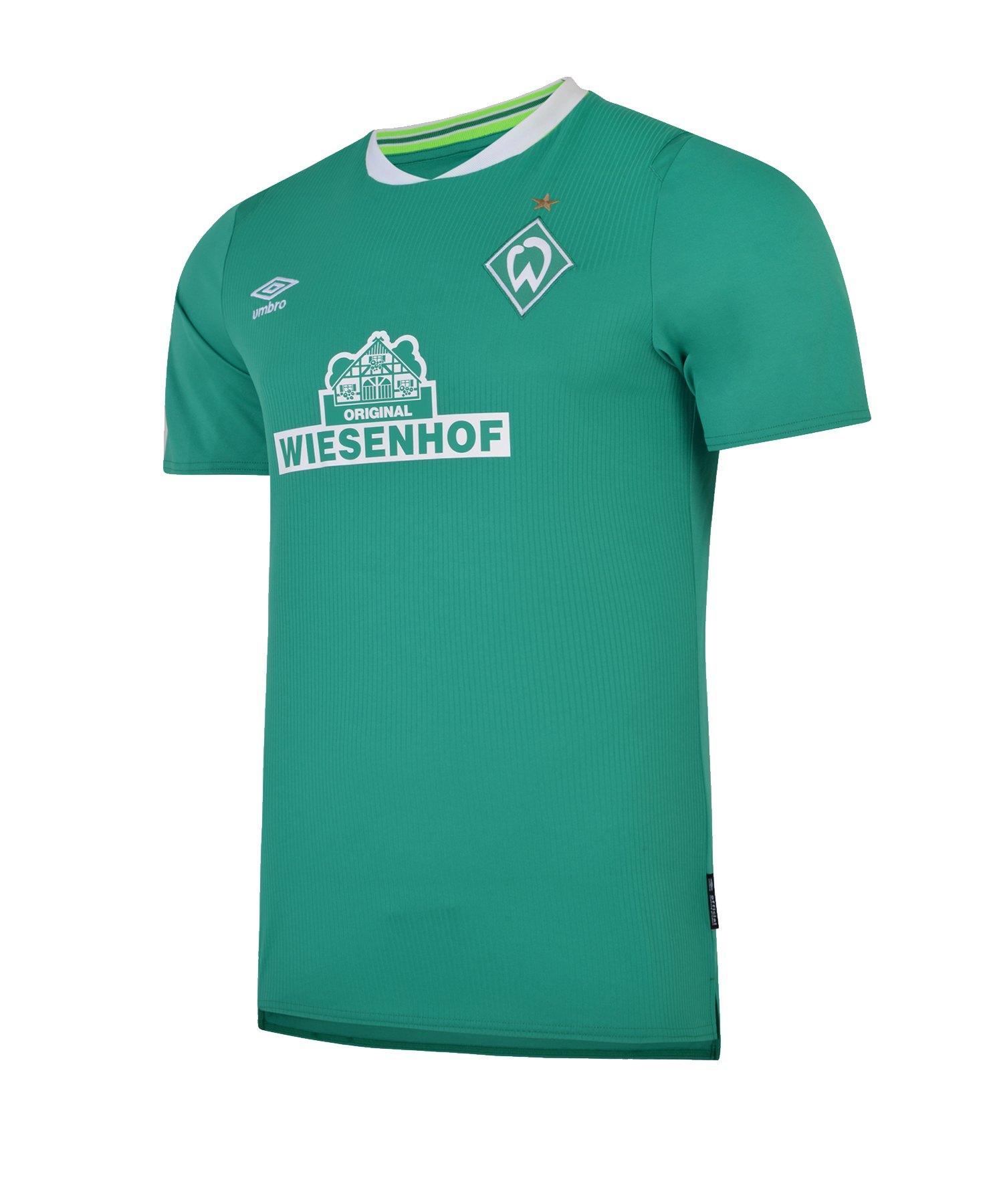 Umbro SV Werder Bremen Trikot Home Kids 2019/2020 - gruen