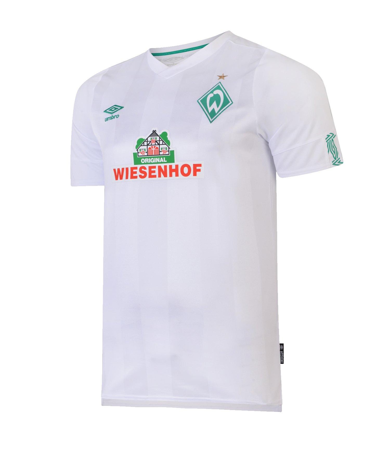 Umbro SV Werder Bremen Trikot Away Kids 2019/2020 - weiss