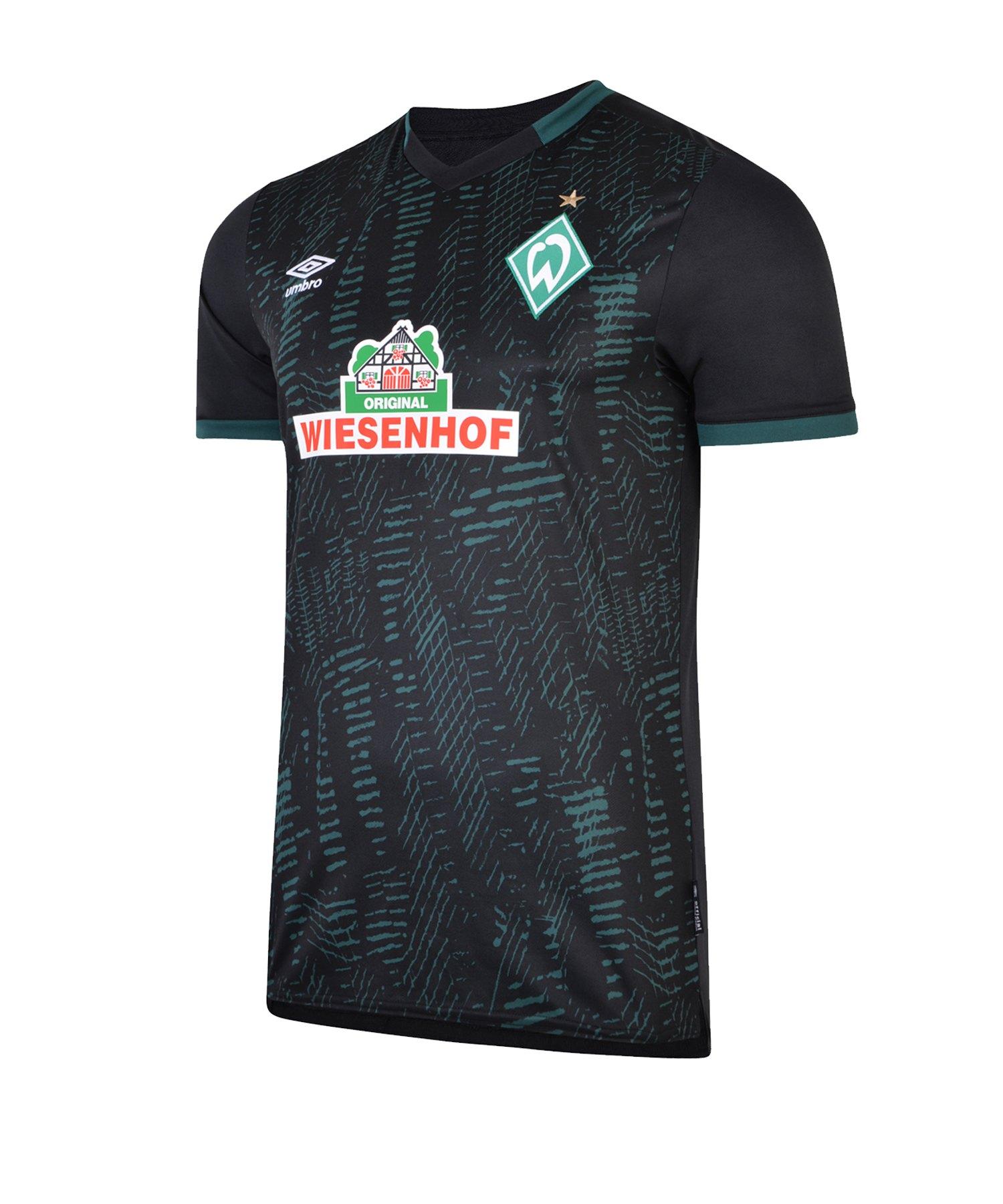 Umbro SV Werder Bremen Trikot 3rd Kids 2019/2020 - schwarz