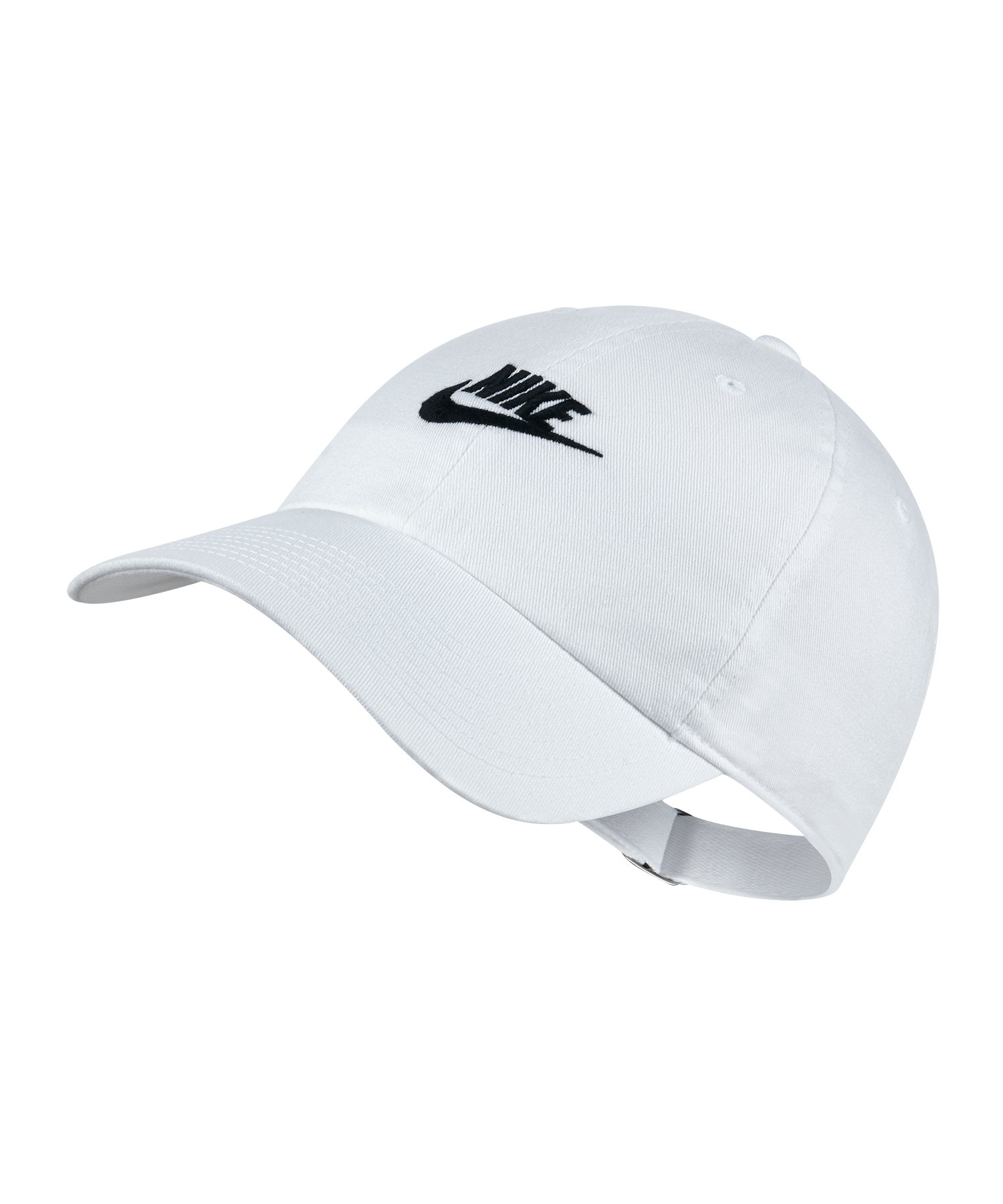 Nike Heritage 86 Washed Cap Kappe Weiss F100 - Weiss