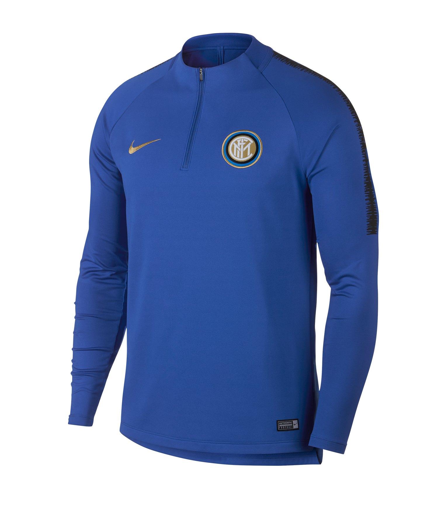 Nike Inter Mailand Dry Squad Drill Top Blau F480 - blau