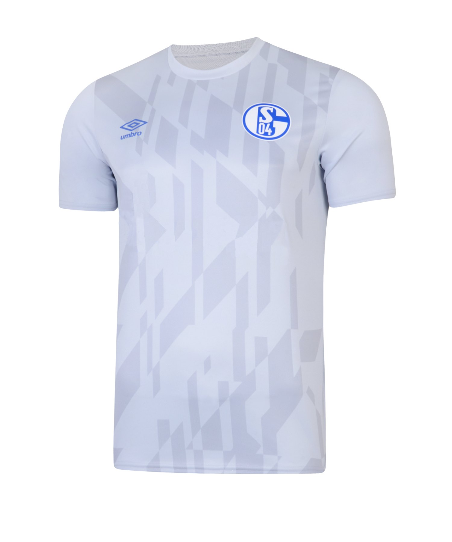 Umbro FC Schalke 04 WarmUp T-Shirt Kids 19/20 FGQK - weiss