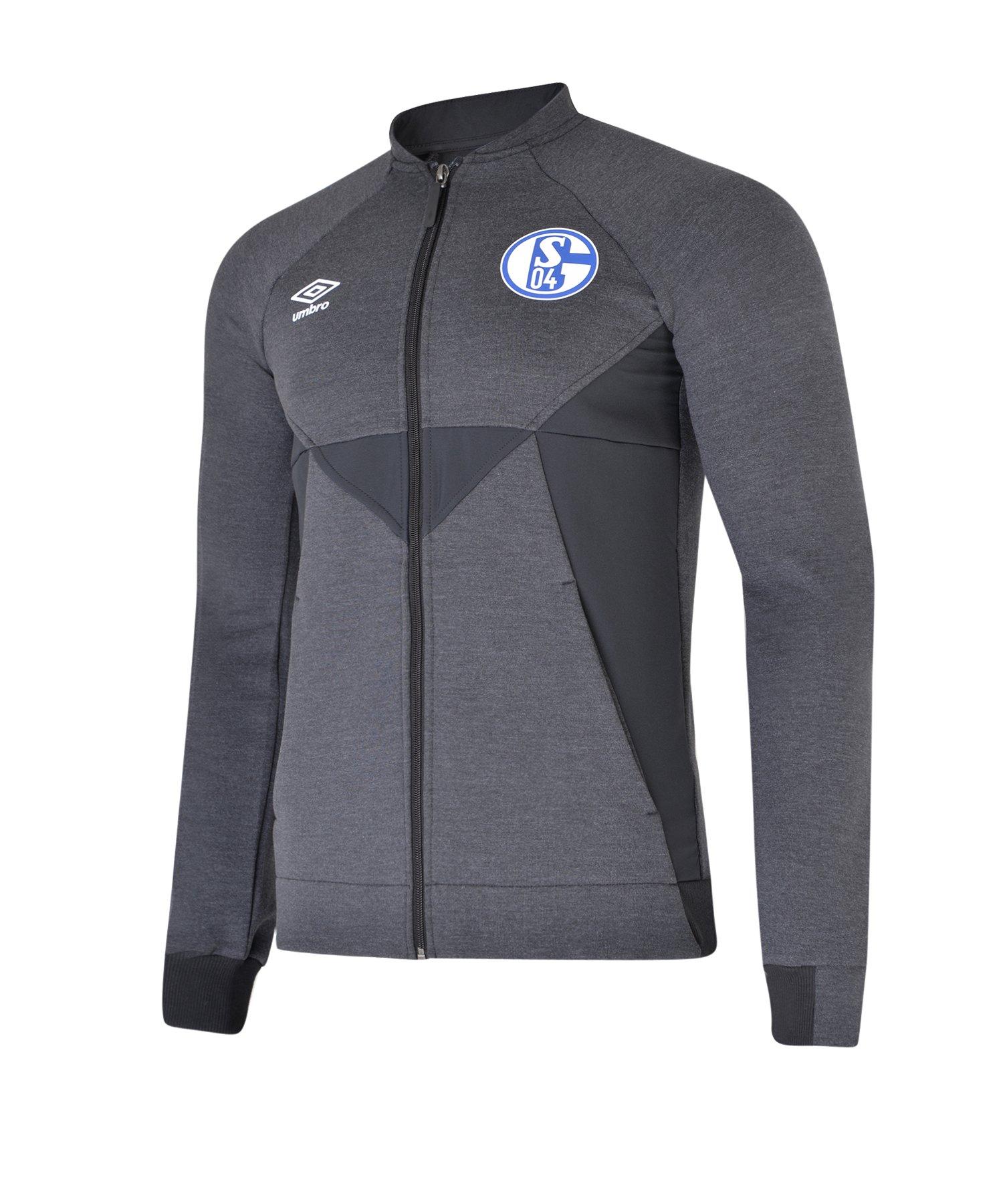 Umbro FC Schalke 04 Präsentationsjacke F741 - grau
