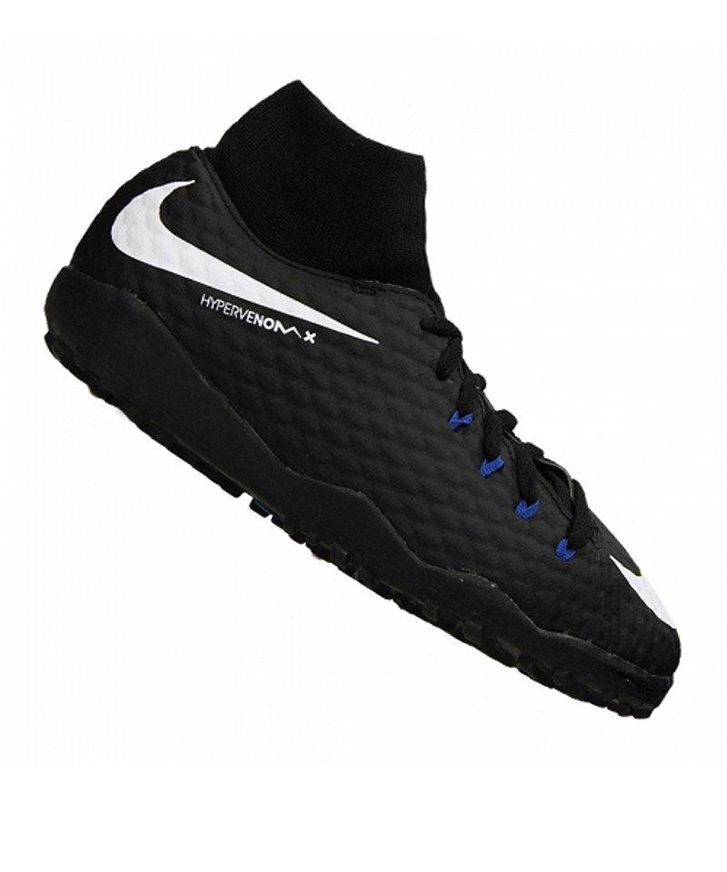 Nike TF Jr Hypervenom Phelon III DF Kinder Schwarz F002 - schwarz
