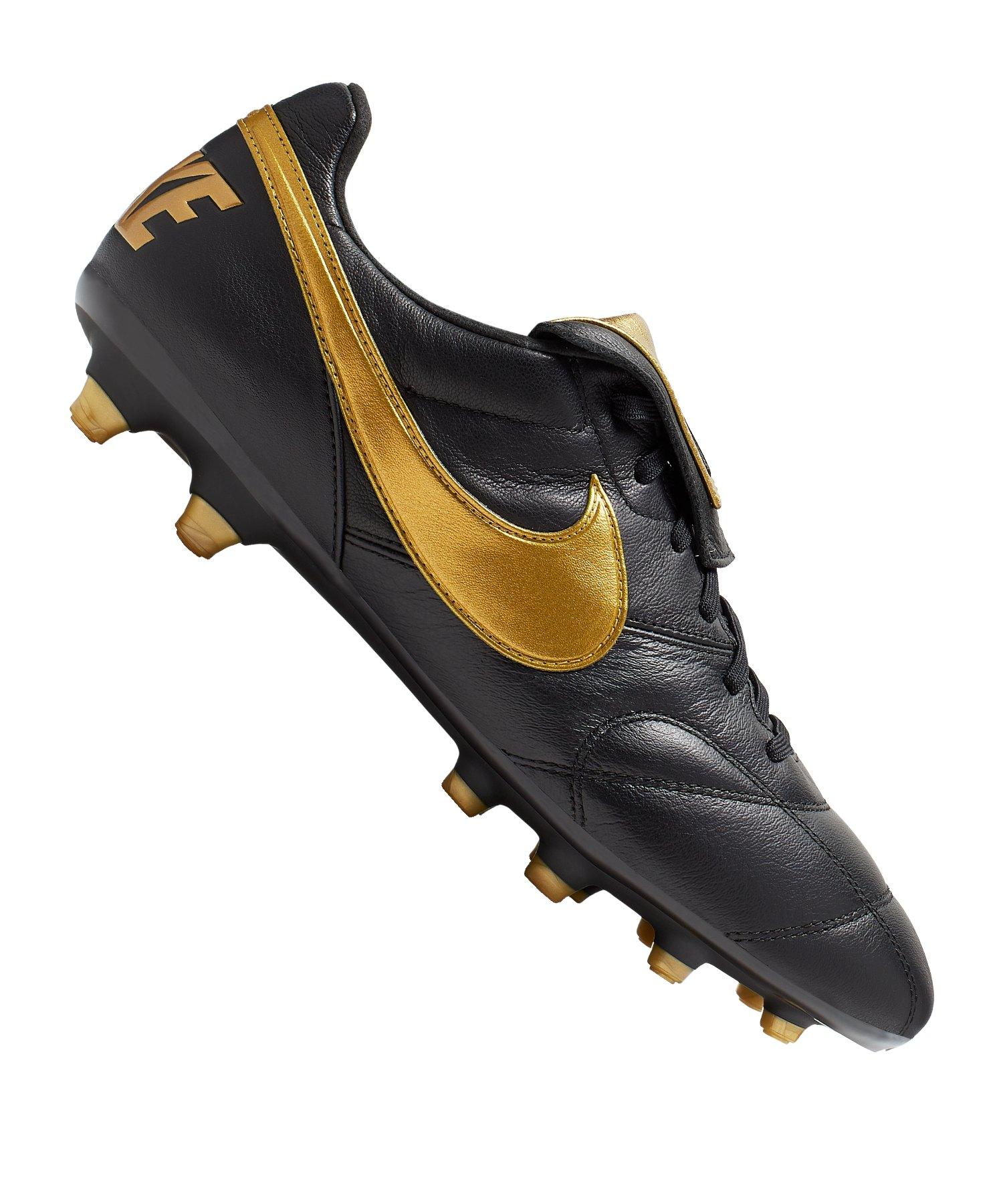 Nike The Nike Premier II FG Schwarz Gold F077 - Schwarz