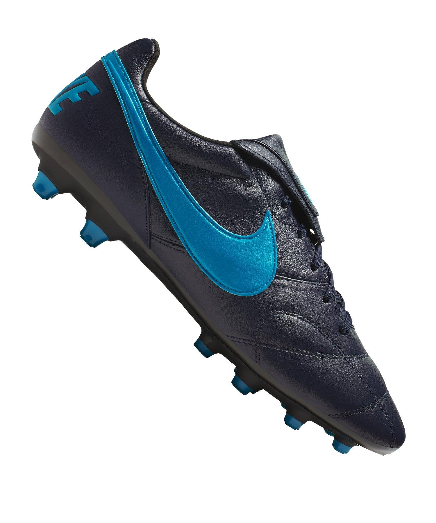 Nike The Premier II FG Schwarz Blau F440 - schwarz