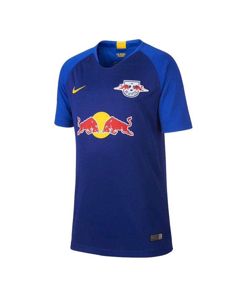 Nike RB Leipzig Trikot Away 2018/2019 Blau F456 - blau