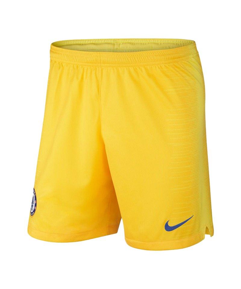Nike FC Chelsea London Short Away 2018/2019 Kids F719 - gelb