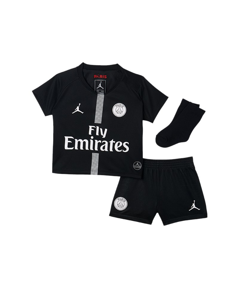 Nike Paris St. Germain Babykit UCL 2018/2019 F012 - schwarz