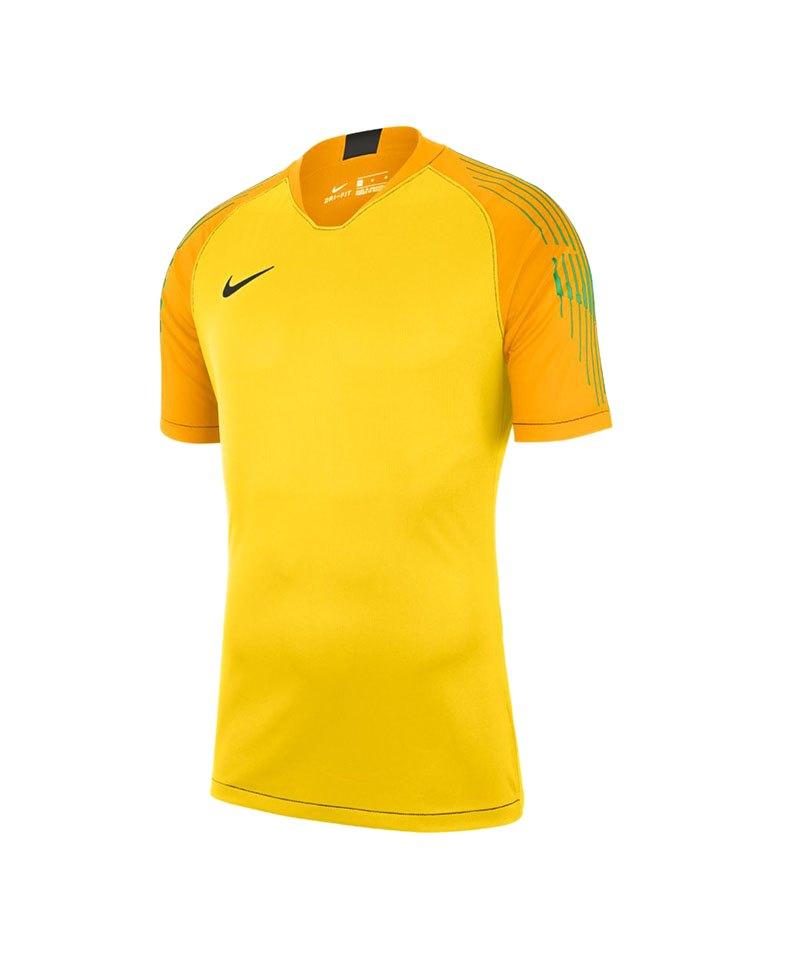 Nike Promo Torwarttrikot kurzarm Gelb F719 - gelb