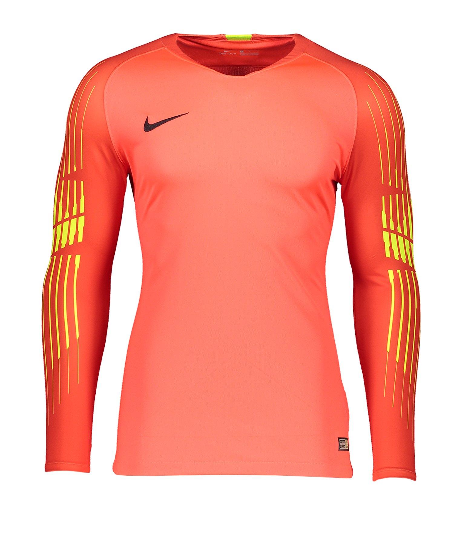 Nike Promo Torwarttrikot langarm Rot F671 - rot