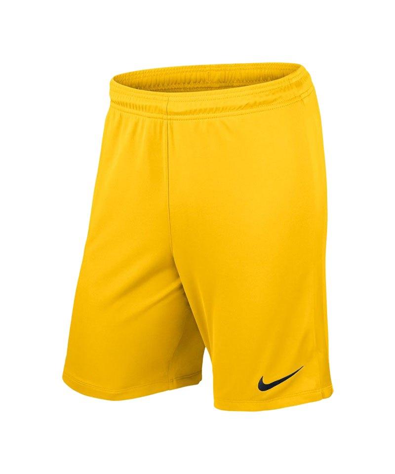 Nike Promo Torwartshort Gelb F719 - gelb