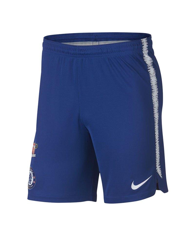 Nike FC Chelsea London Dry Squad Short Blau F496 - blau