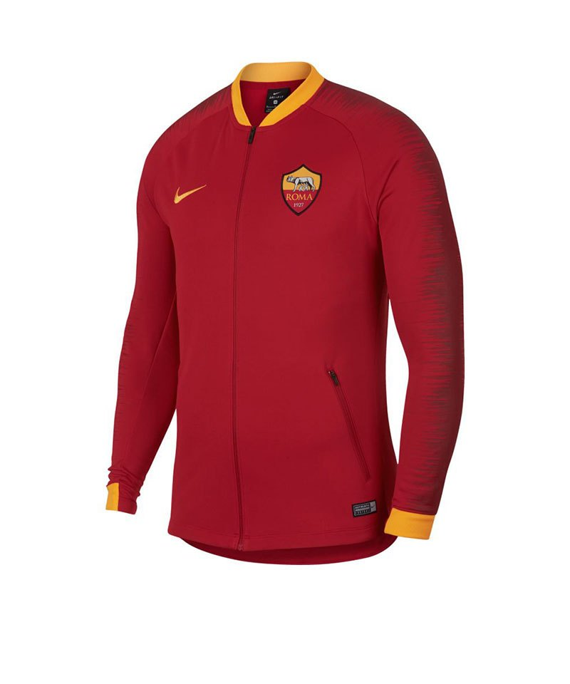 Nike AS Rom Anthem Football Jacket Jacke F613 - rot