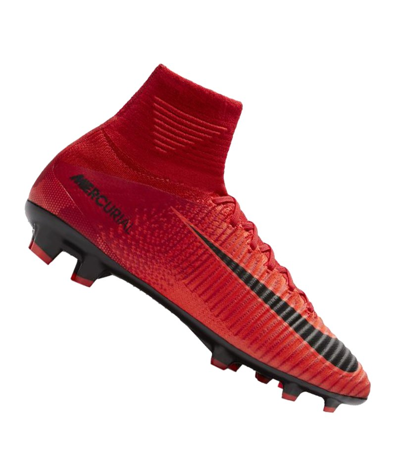 Nike Jr Mercurial Superfly V FG Kids Rot F616 - rot