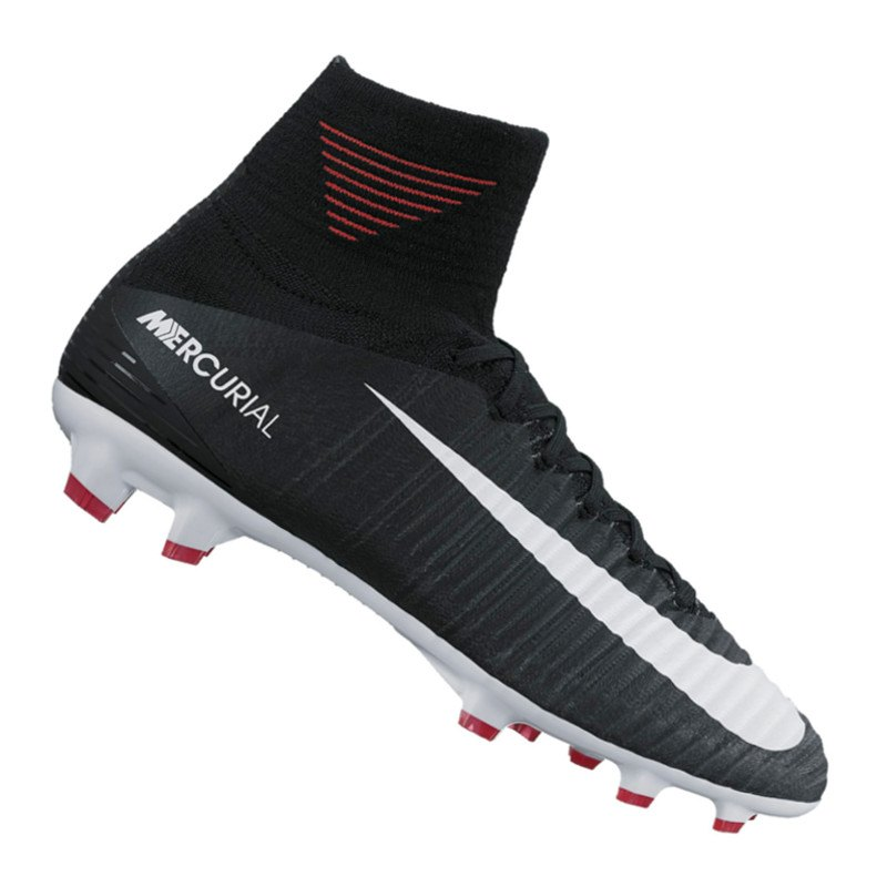 Nike Jr Mercurial Superfly V FG Kids Schwarz F002 - schwarz