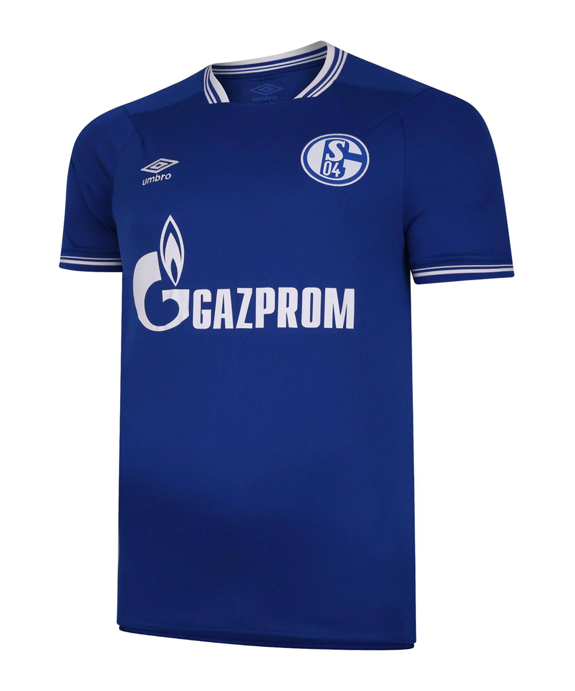 Umbro FC Schalke 04 Trikot Home 2020/2021 Blau FKIT - blau