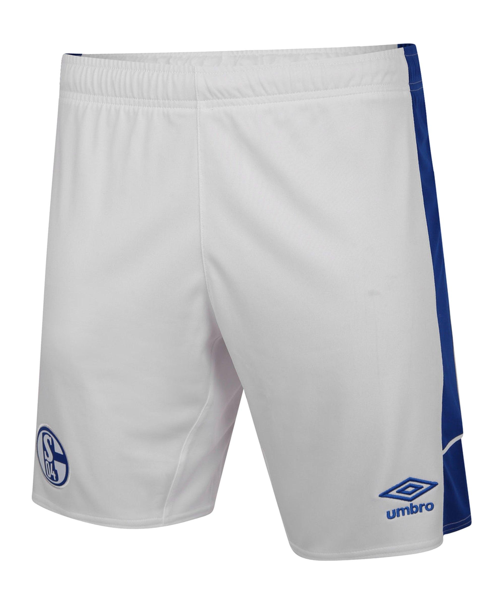 Umbro FC Schalke 04 Short Home 20/21 - weiss