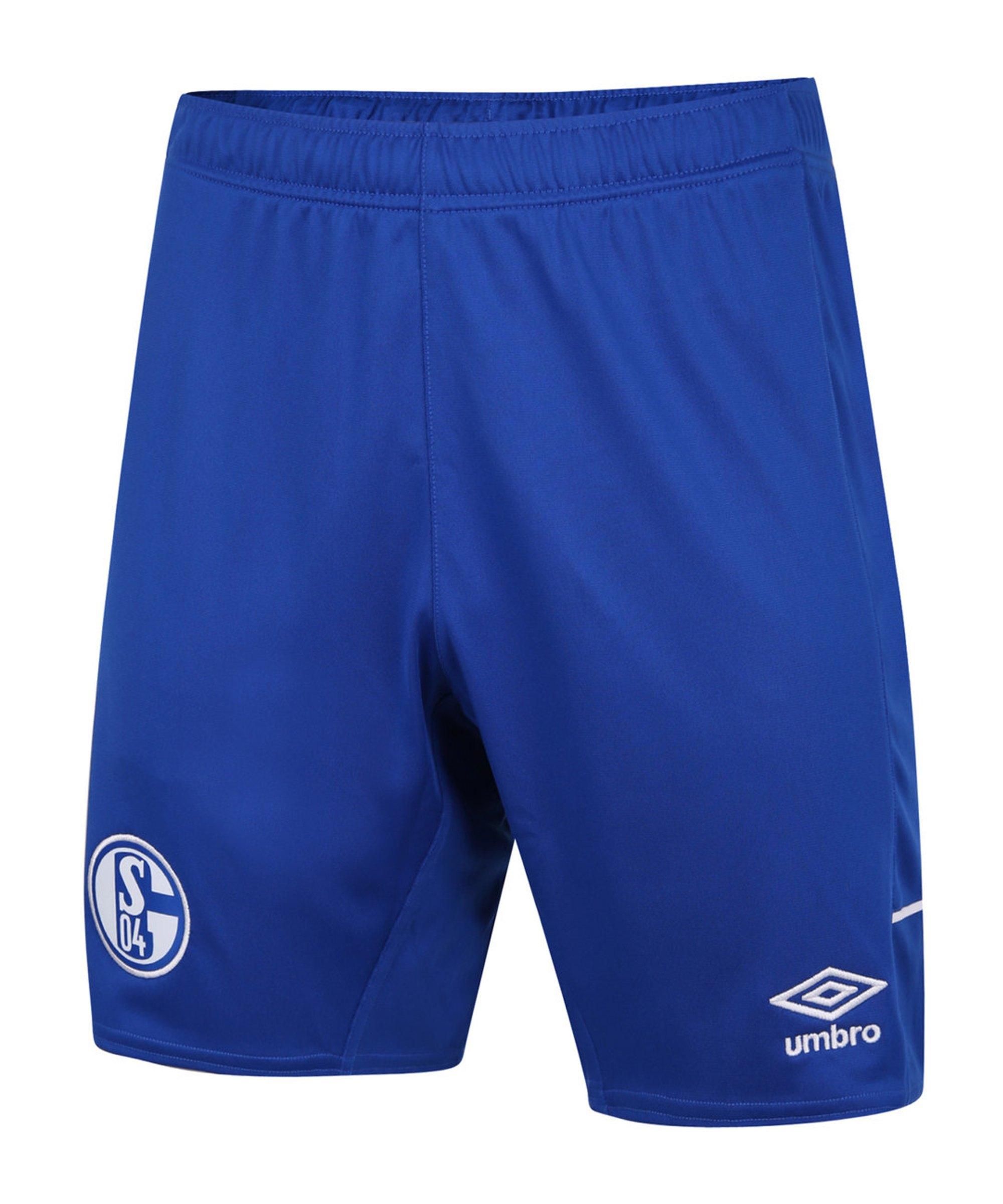 Umbro FC Schalke 04 Short Away 20/21 - blau