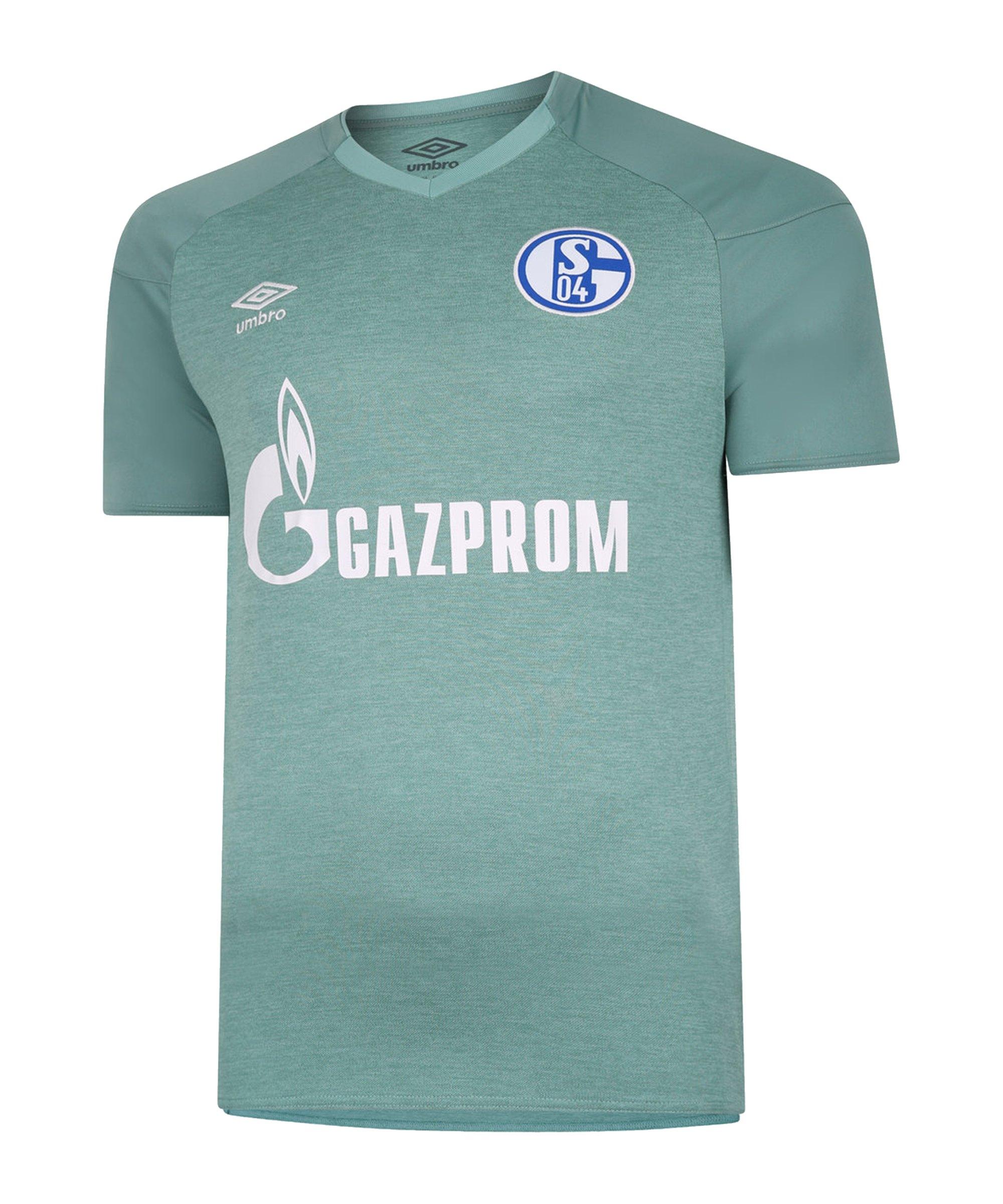 Umbro FC Schalke 04 Trikot 3rd 2020/2021 Grün FKIT - gruen