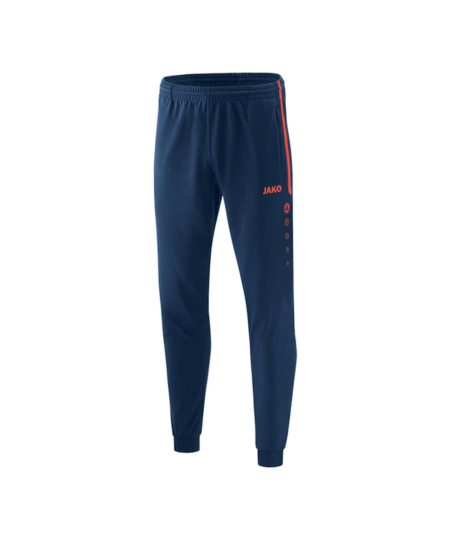 Jako Competition 2.0 Polyesterhose Blau Orange F18 - Blau