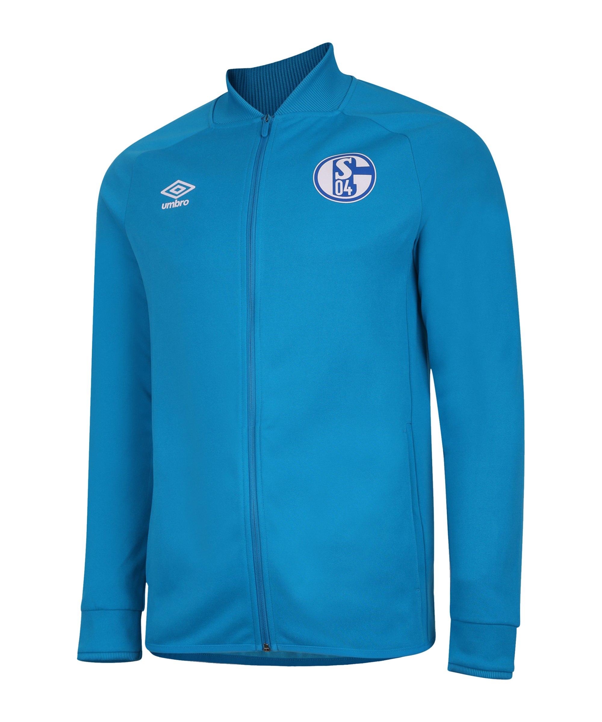 Umbro FC Schalke 04 Präsentationsjacke Blau F6AM - blau