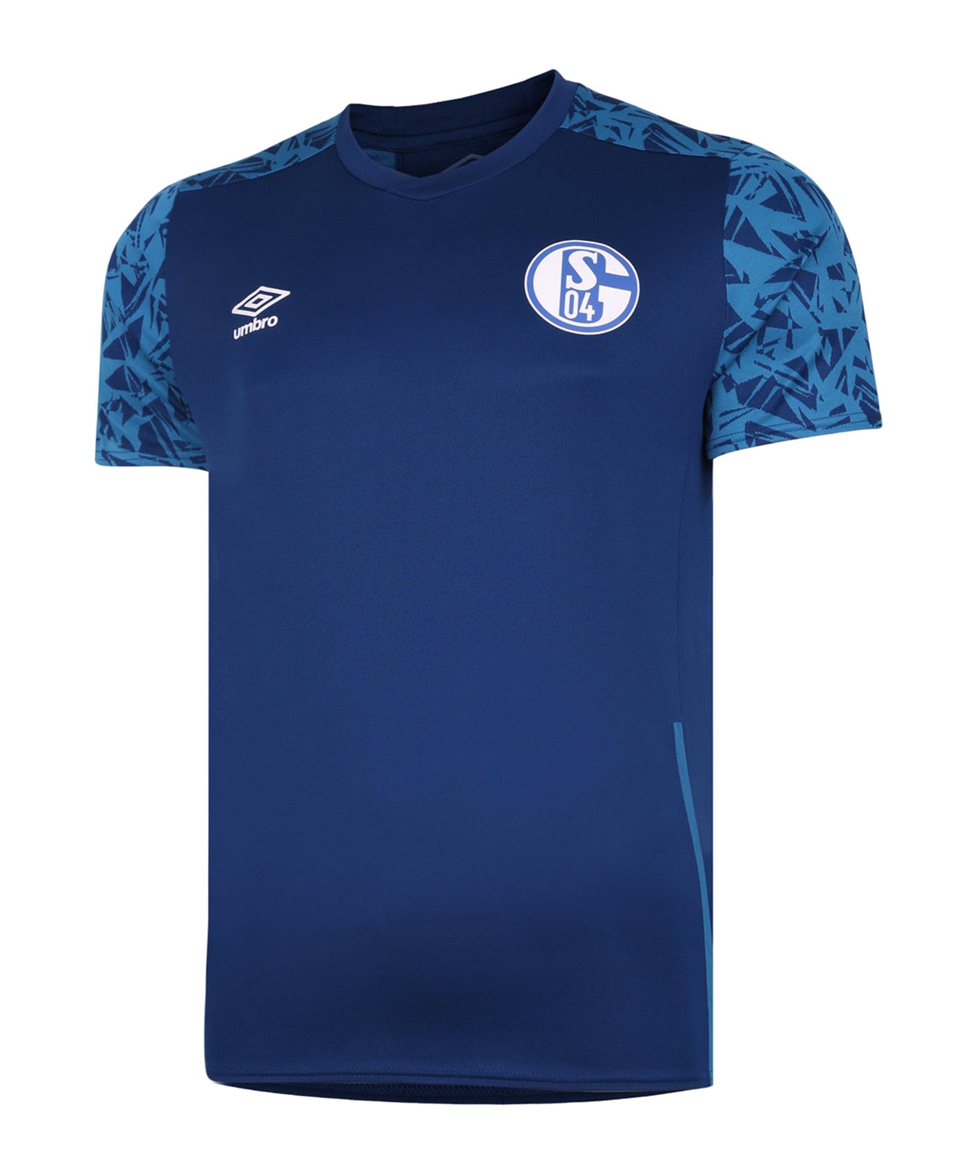 Umbro FC Schalke 04 Trainingsshirt Kids Blau FJRE - blau