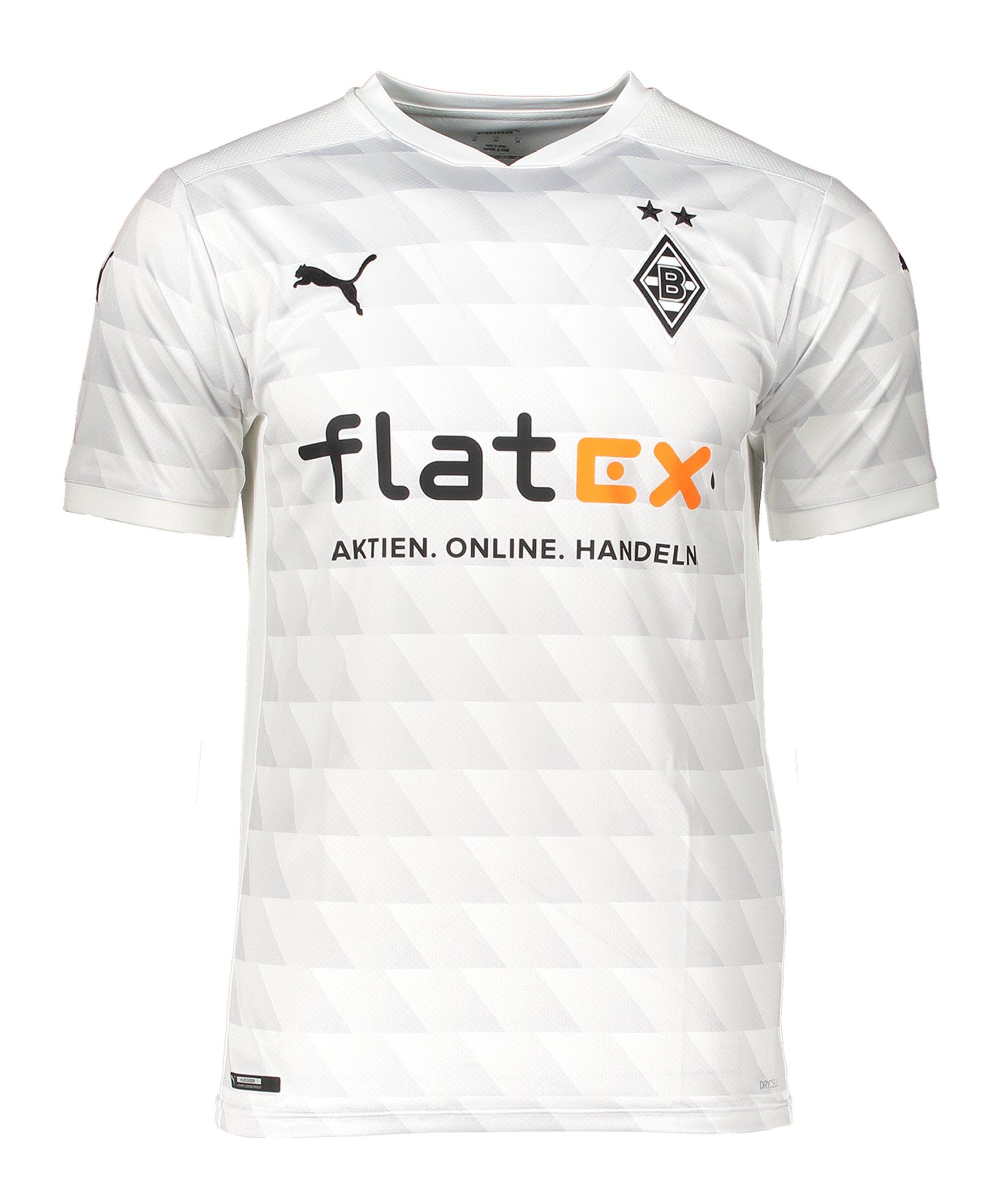 Borussia Mönchengladbach Trikot Home 2020/2021 Weiss F01 - weiss