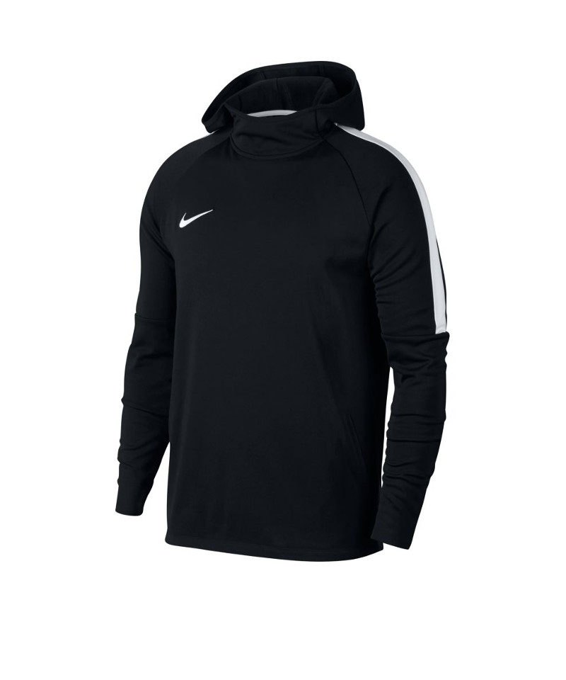 Nike Dry Academy Football Hoody Sweatshirt F010 - schwarz