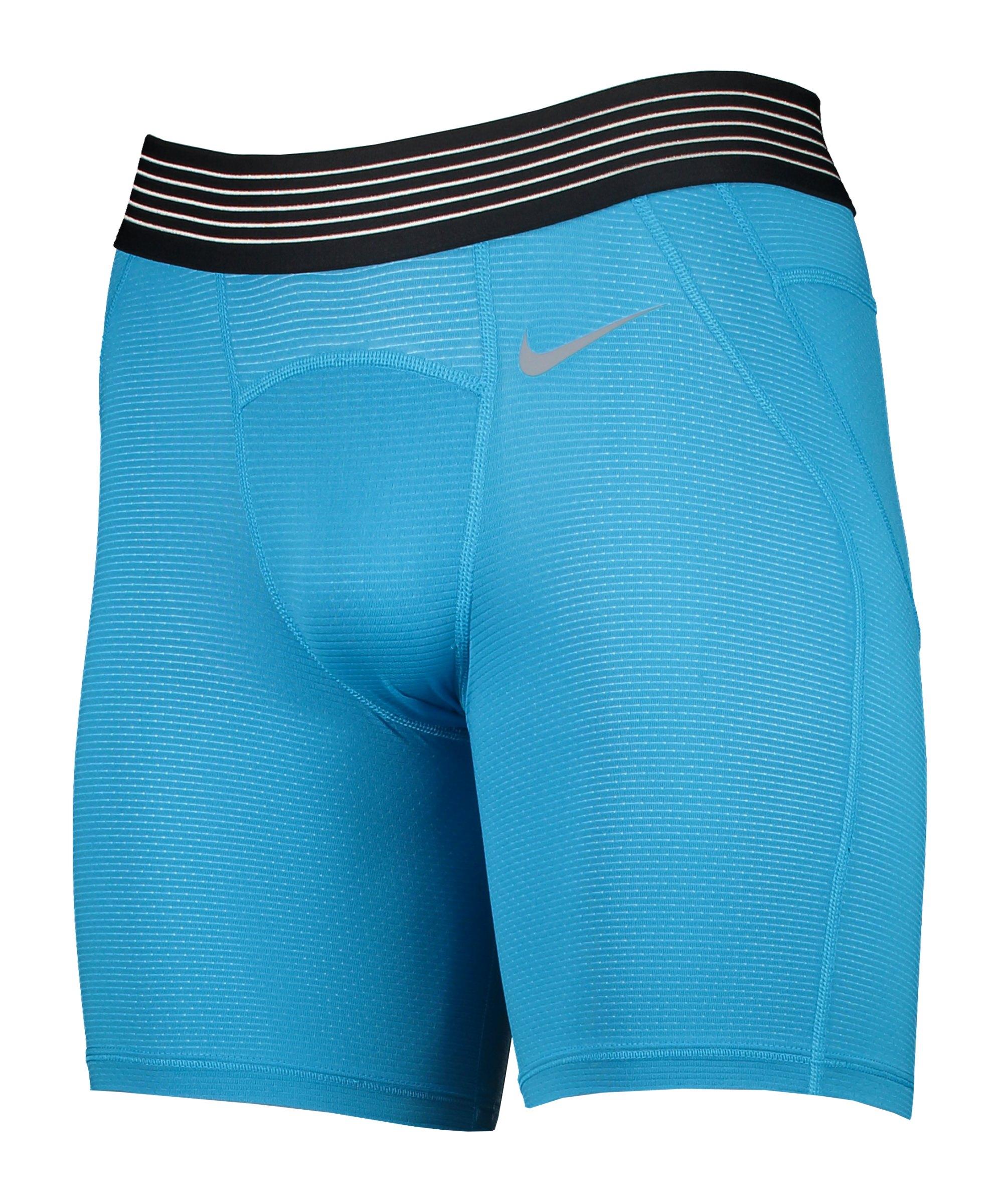 Nike Pro Hypercool Short 6in Blau F446 - blau