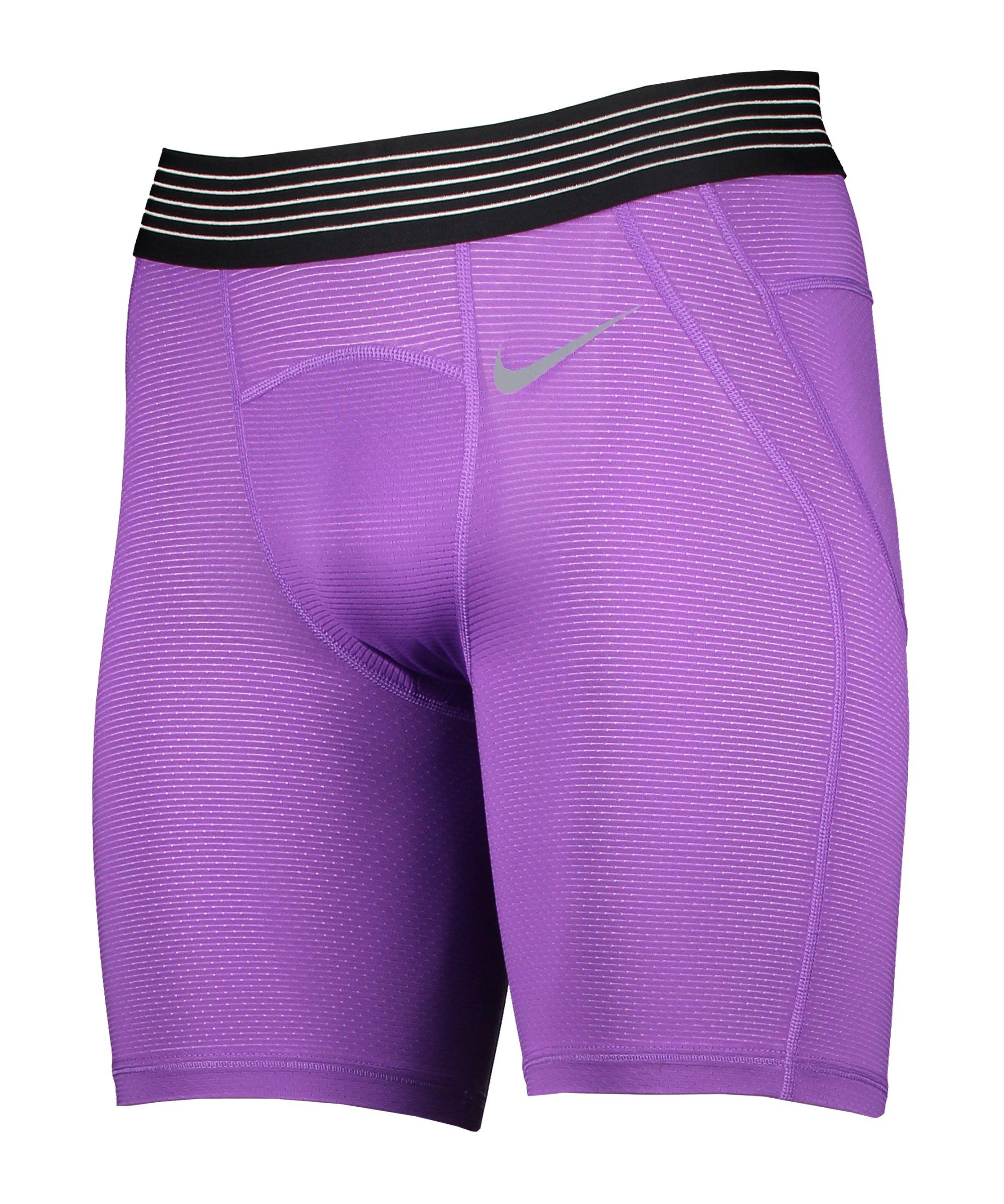Nike Pro Hypercool Short 6in Lila F528 - lila