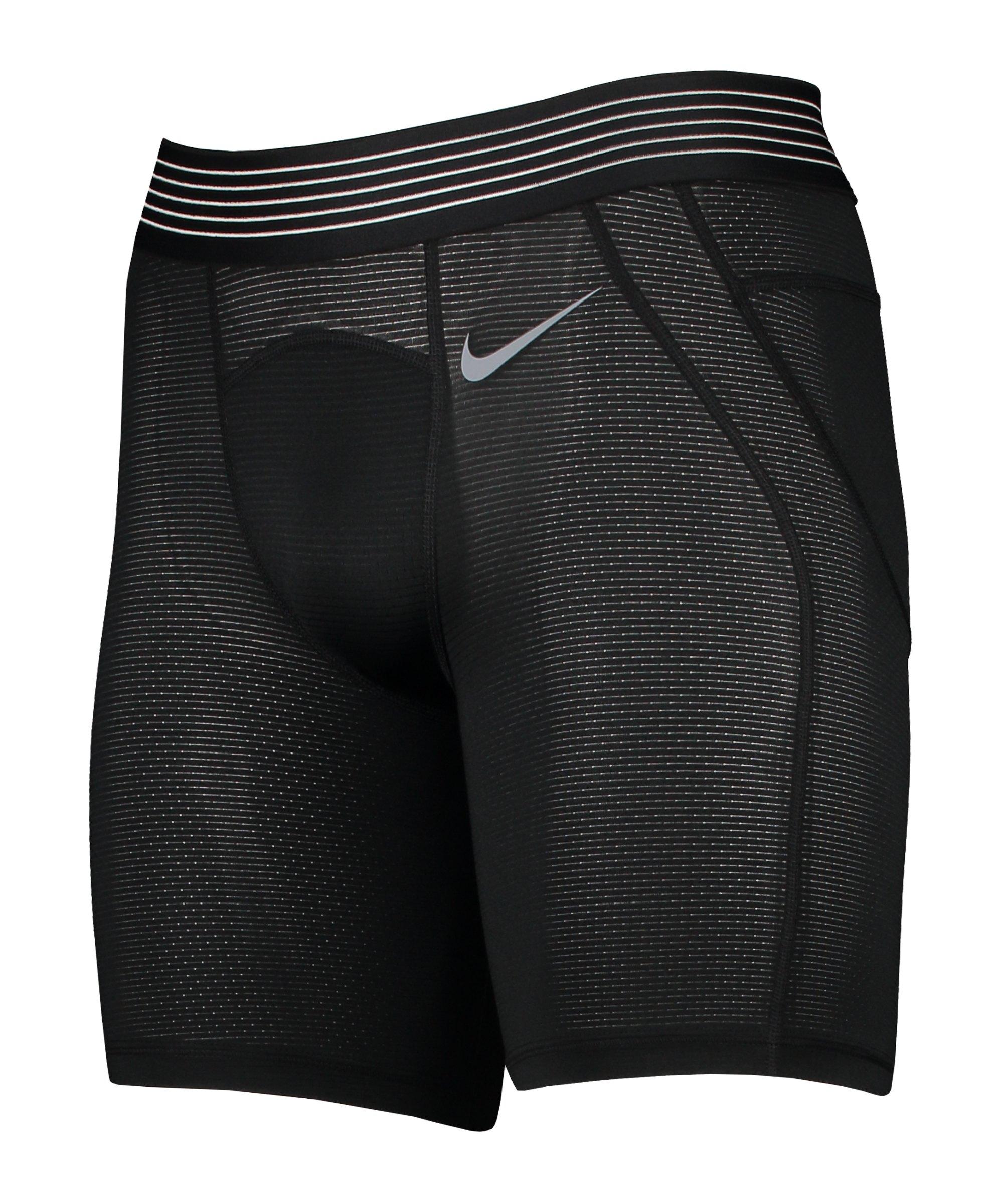 Nike Pro Hypercool Short 6in Schwarz F010 - schwarz
