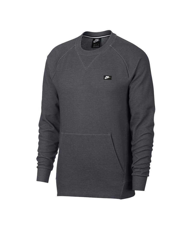 Nike Optic Fleece Sweatshirt Grau F021 - grau