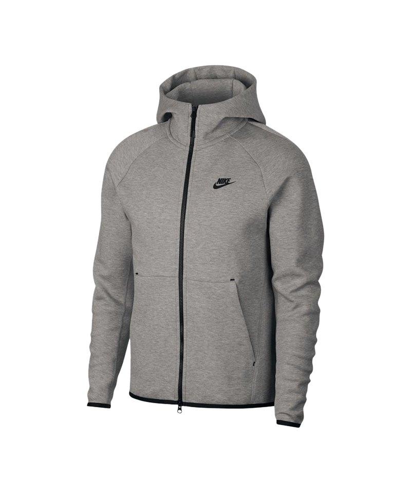 Nike Tech Fleece Kapuzenjacke Grau F063 - grau