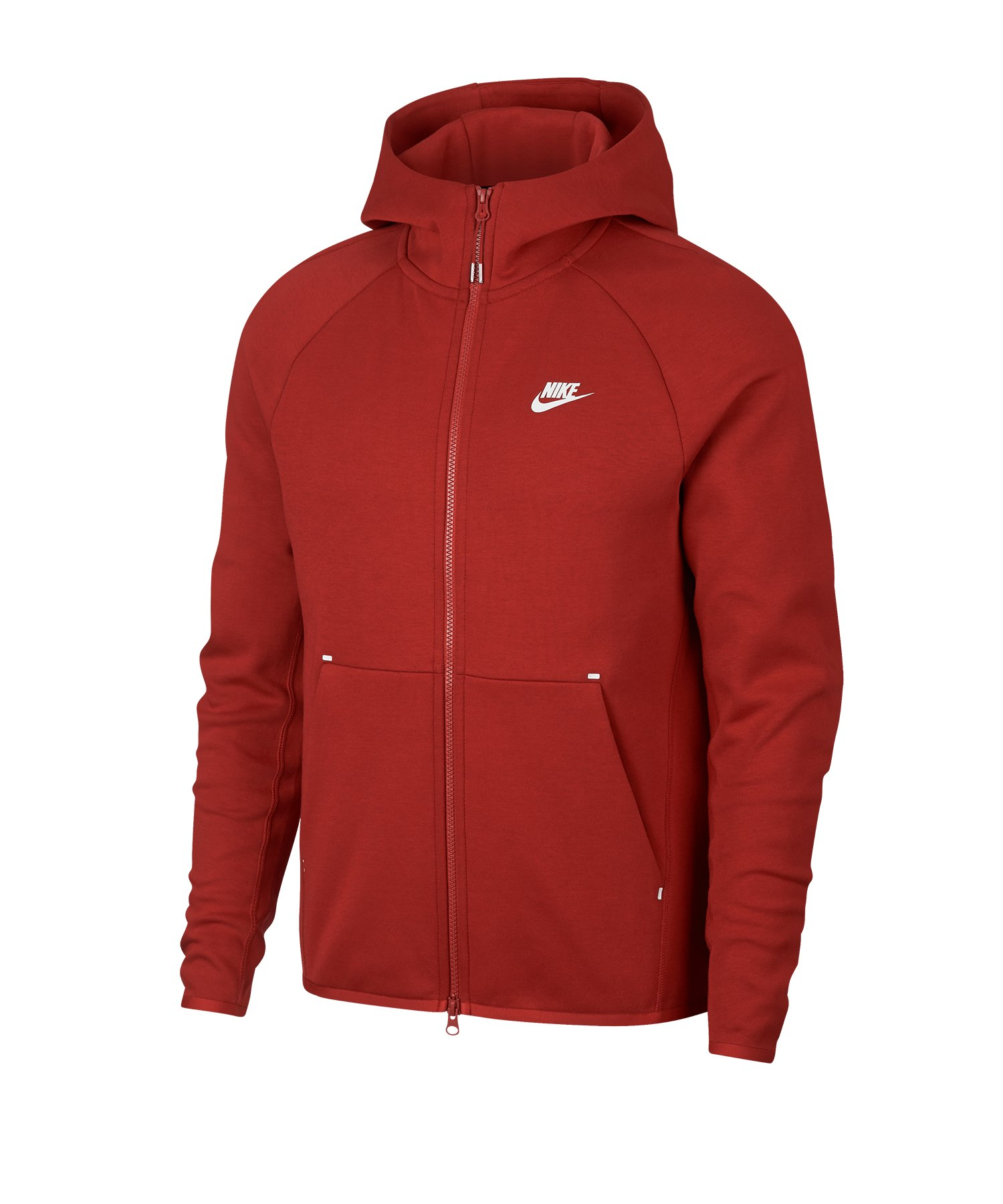 Nike Tech Fleece Kapuzenjacke Rot F622 - rot
