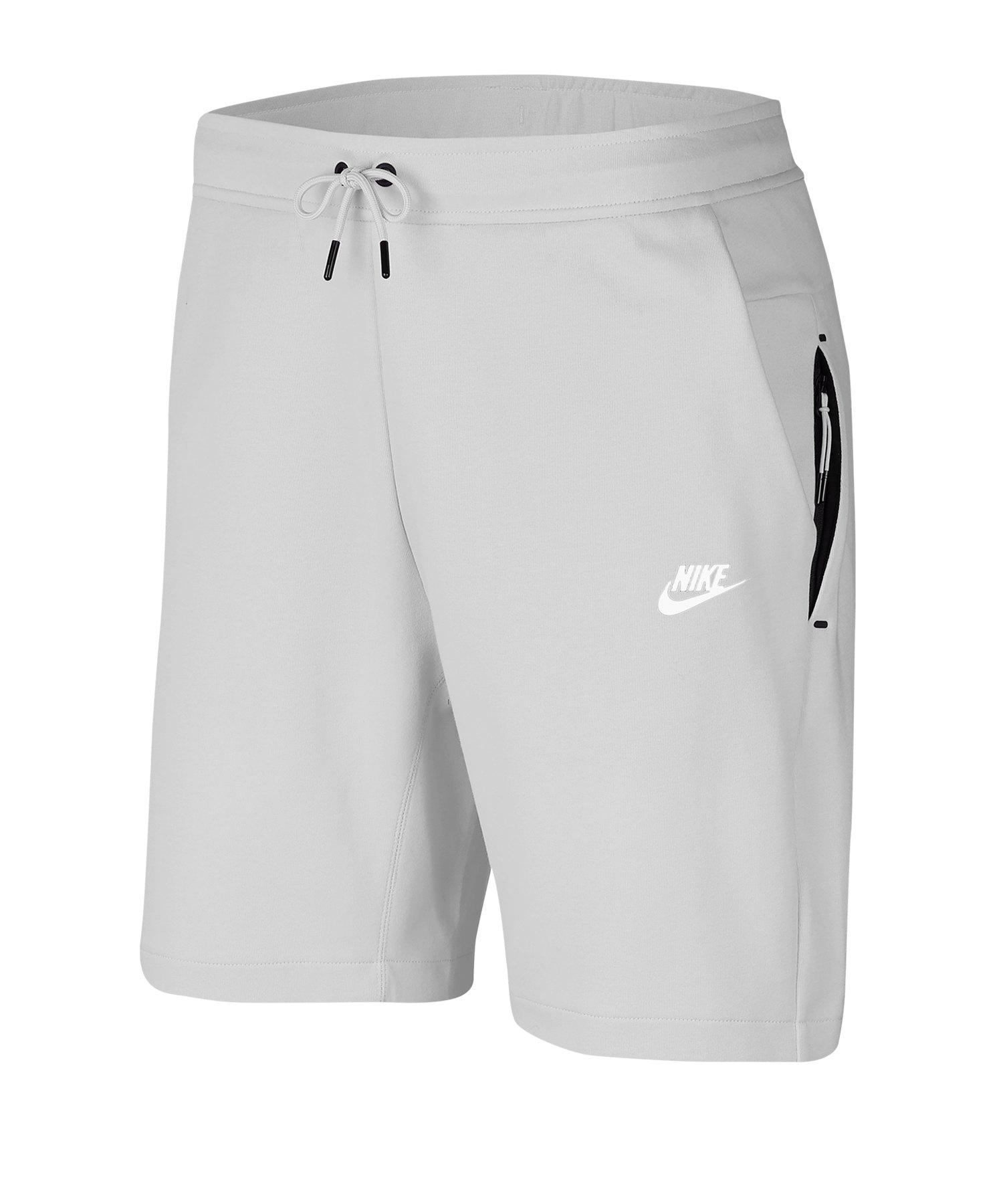 Nike Tech Fleece Short Grau F043 - grau