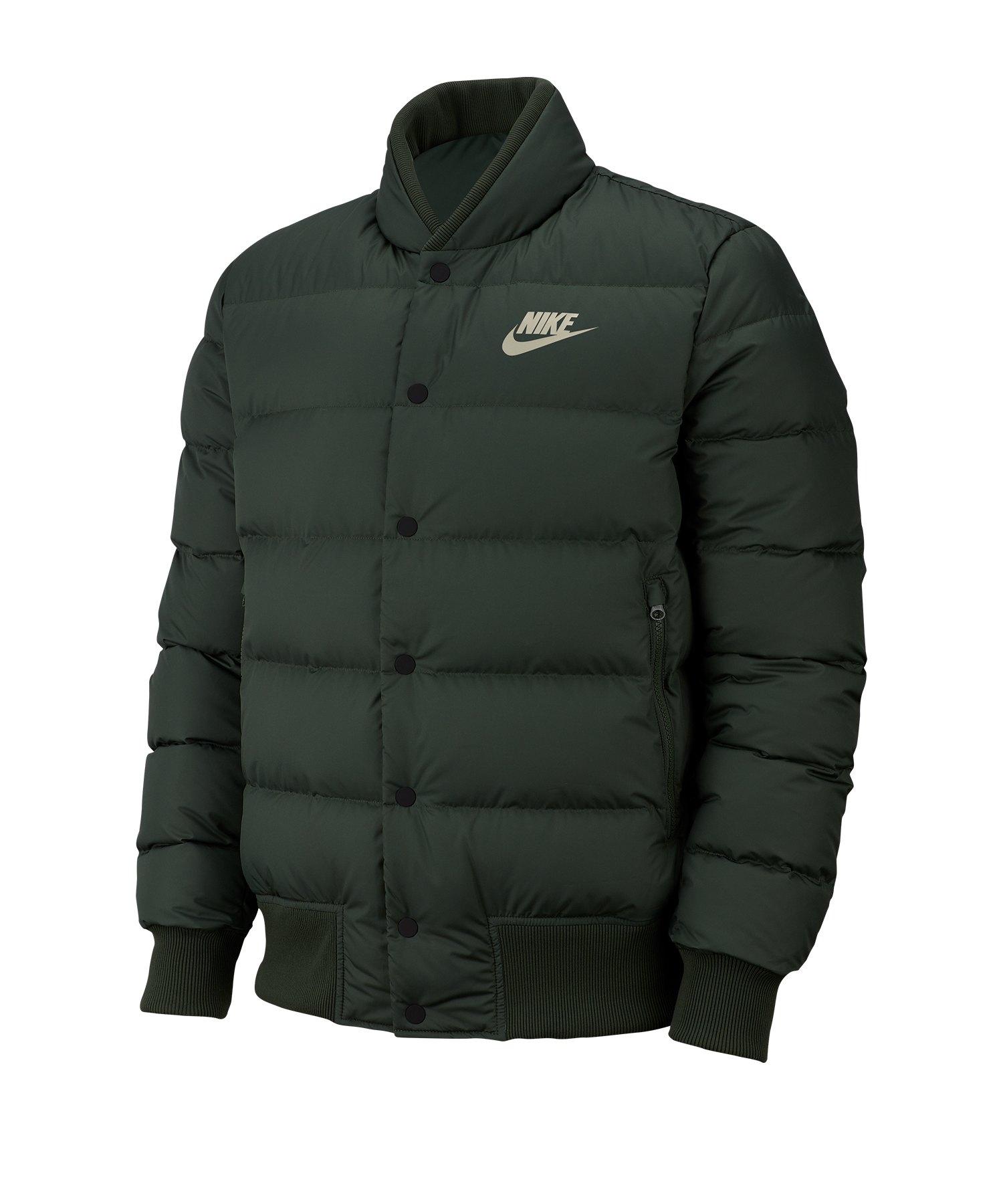 Nike Down Fill Bomberjacke Jacket F370 - gruen