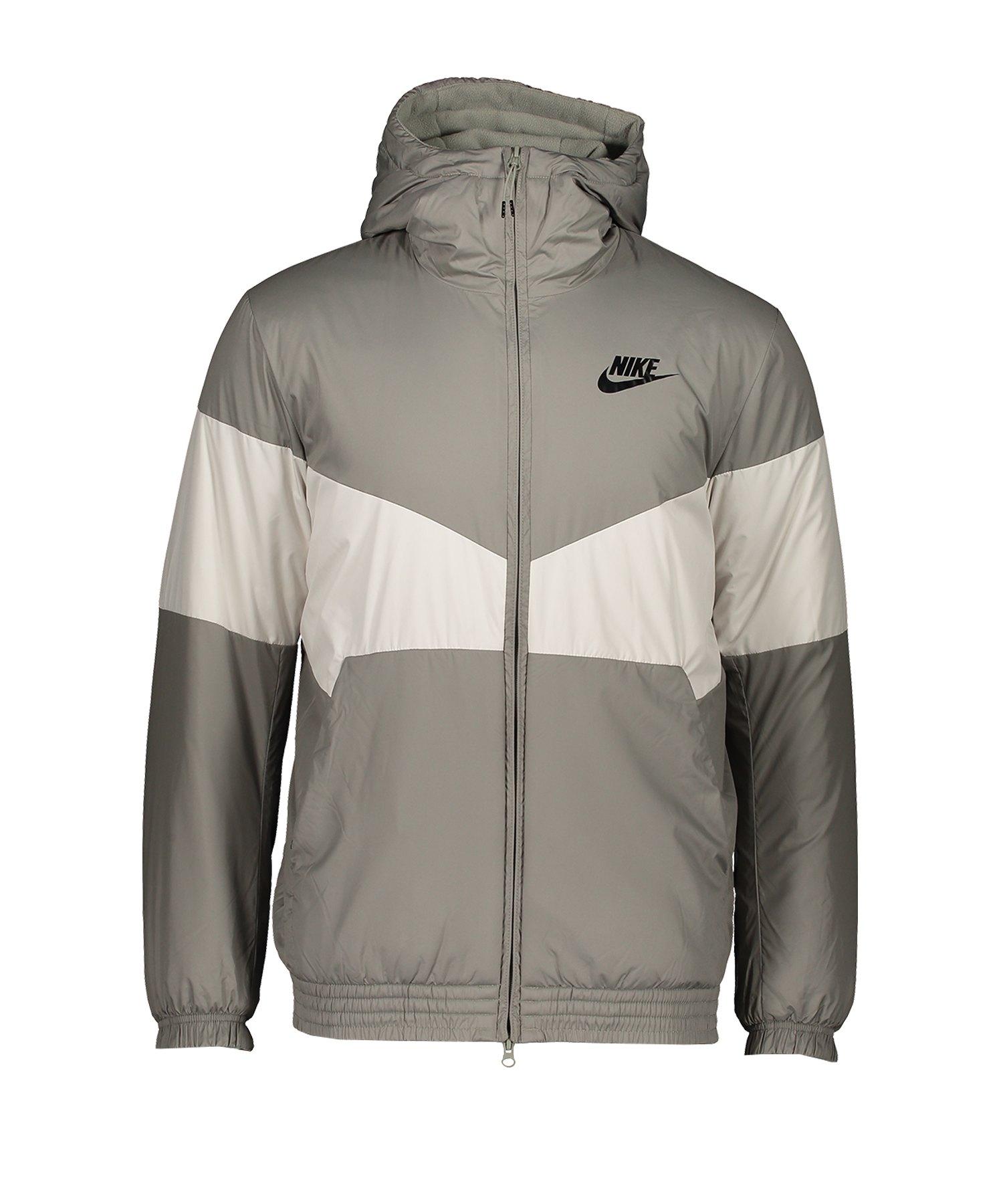 Nike Windrunner Kapuzenjacke Grau F004 - grau