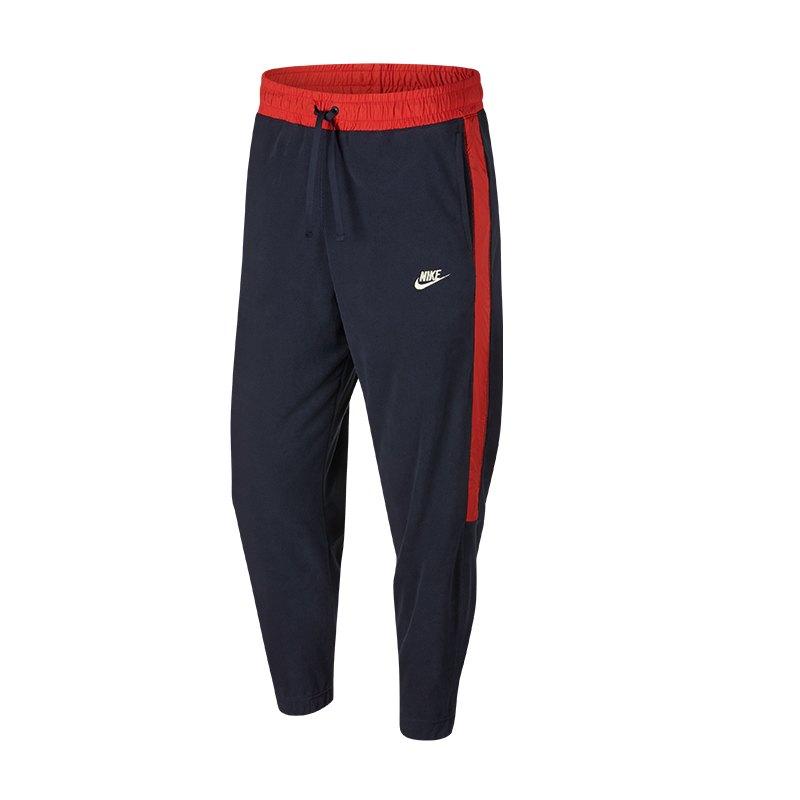 Nike Core Polar Fleece Winter Pants Blau Rot F451 - blau