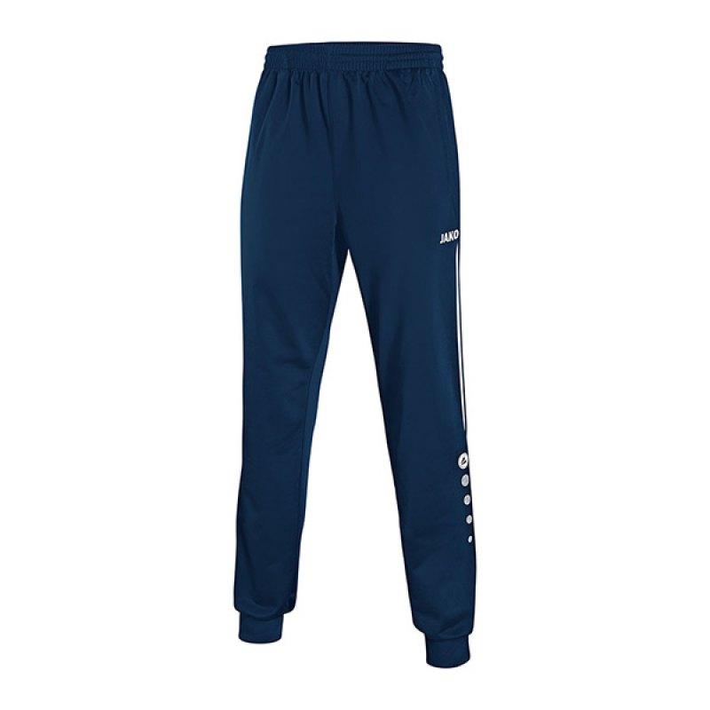 Jako Polyesterhose Performance F09 Blau - blau
