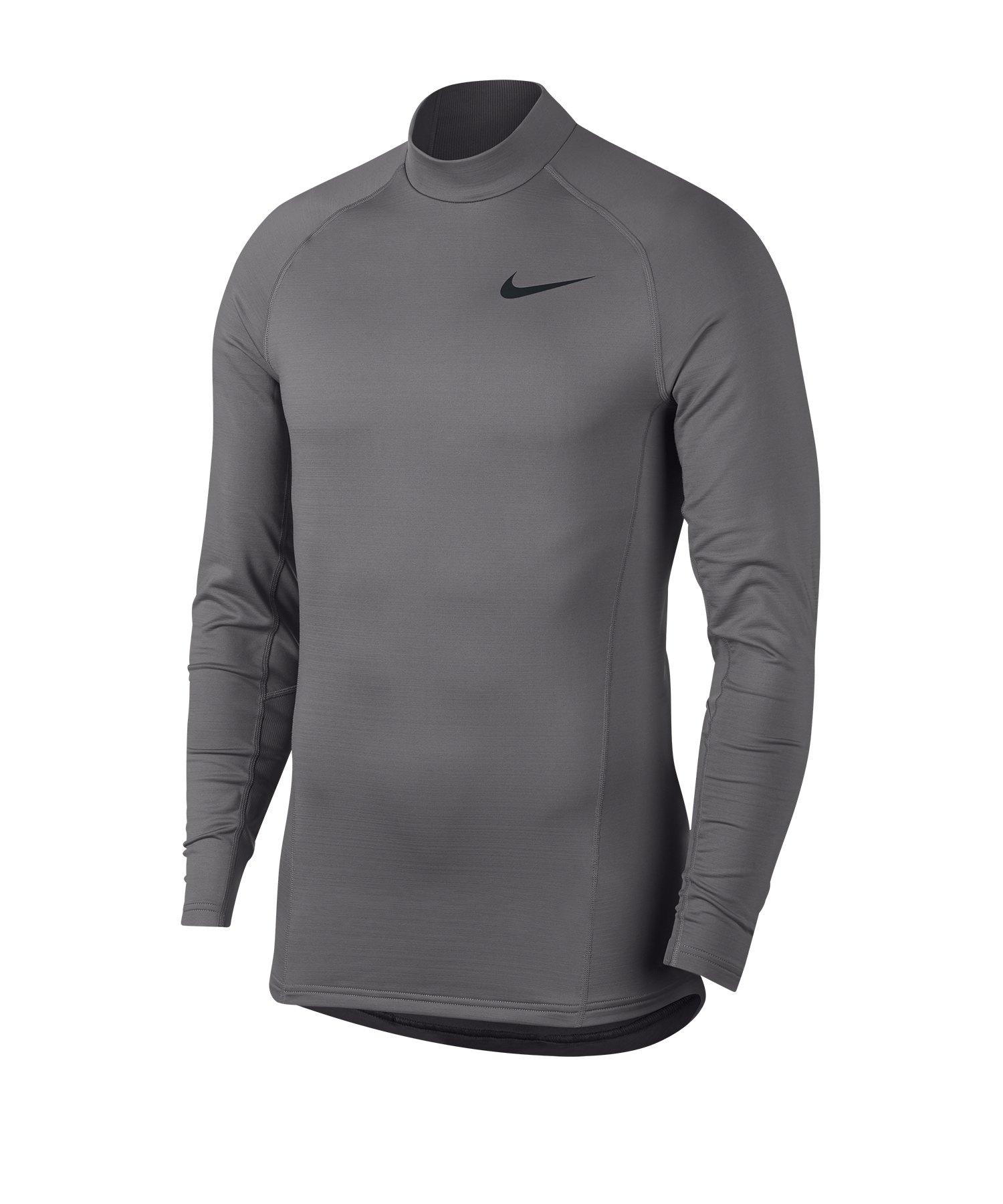 Nike Pro Trainingsweatshirt Grau F036 - grau