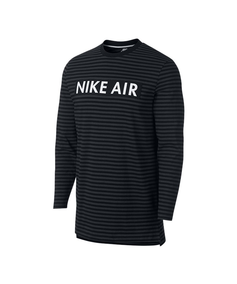 Nike Air Crew Sweatshirt Longsleeve Dunkelgrau - grau
