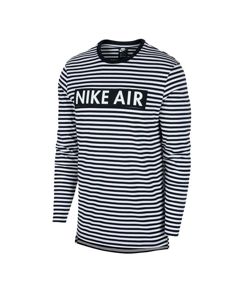 Nike Air Crew Sweatshirt Longsleeve Weiss F101 - weiss