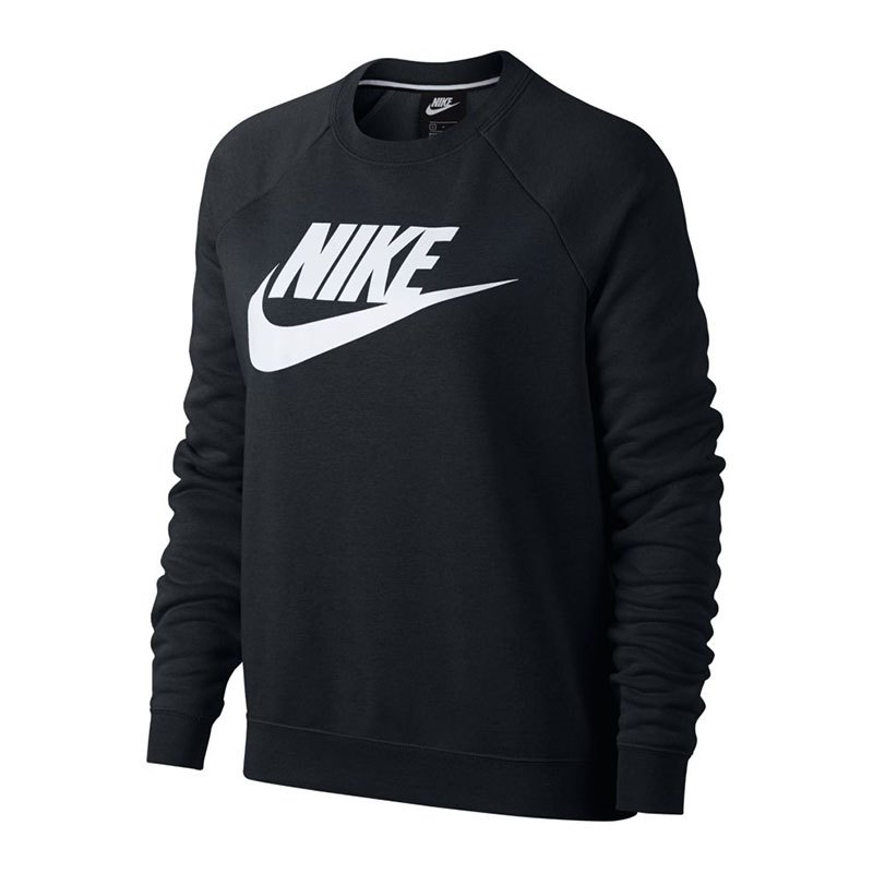 Nike Rally Sweater Damen Schwarz F010 - schwarz