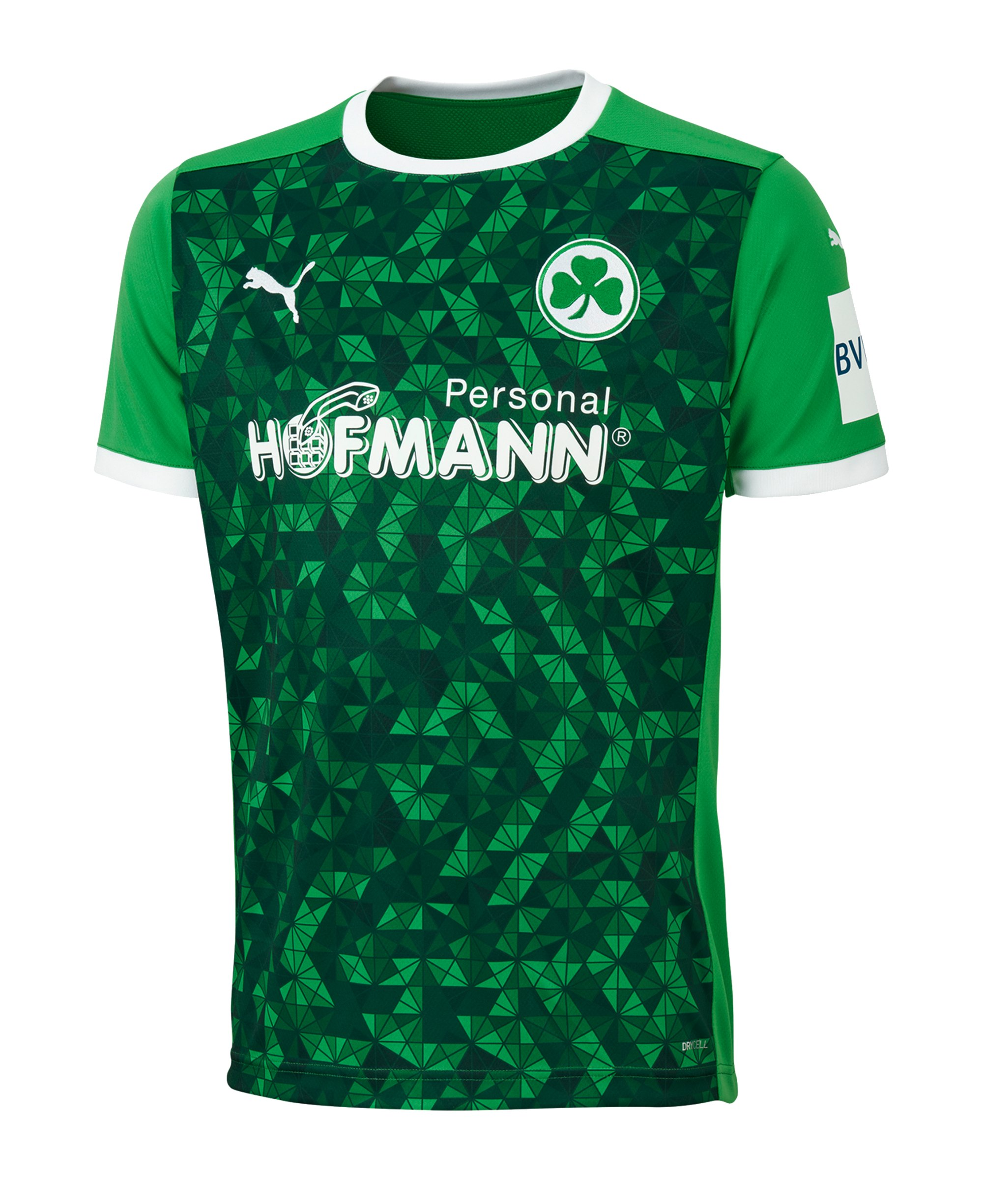 PUMA Greuther Fürth Trikot Away 2020/2021 F01 - gruen