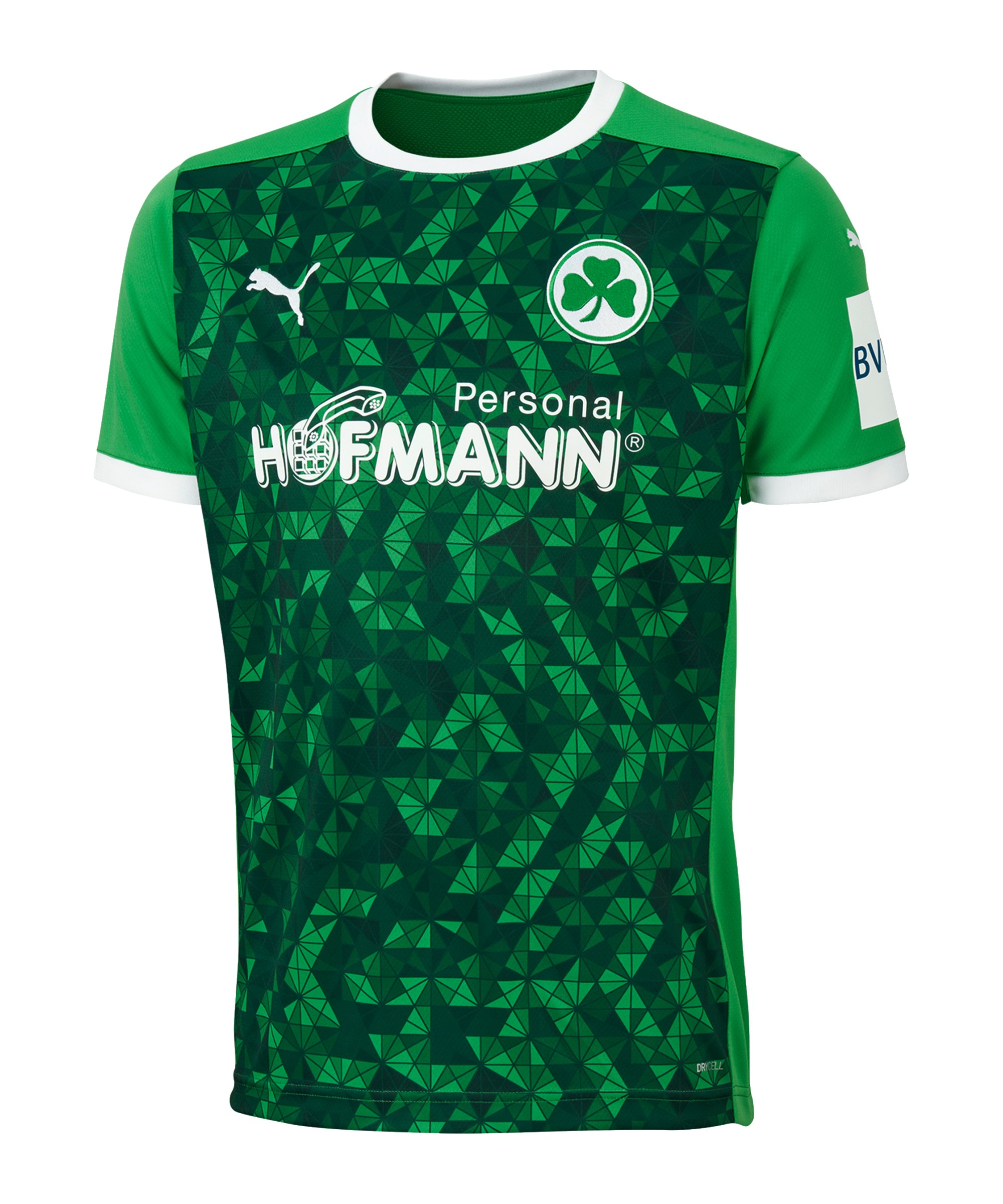 PUMA Greuther Fürth Trikot Away 2020/2021 Kids F01 - gruen