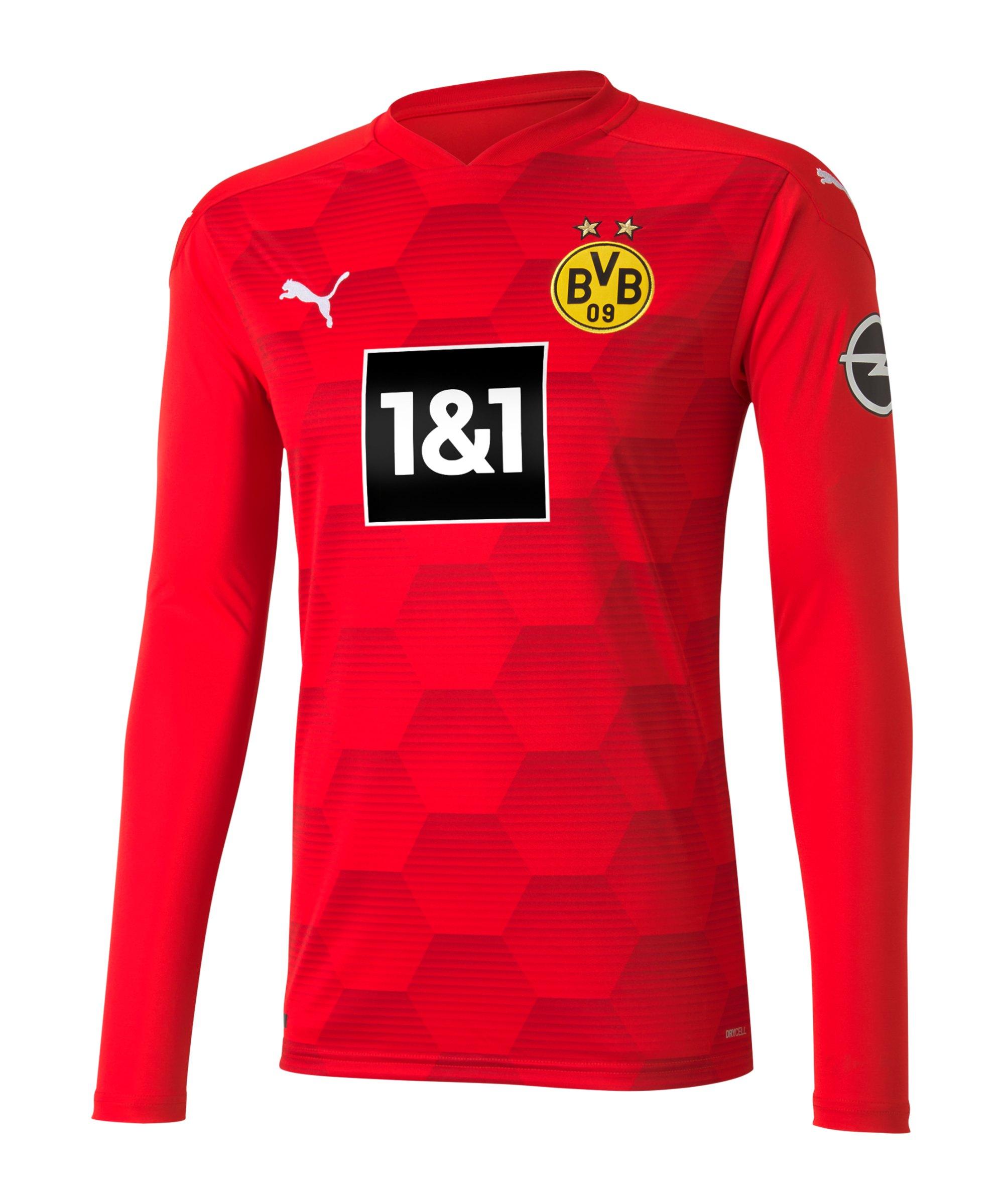 PUMA BVB Dortmund Torwarttrikot 2020/2021 Rot F06 - rot