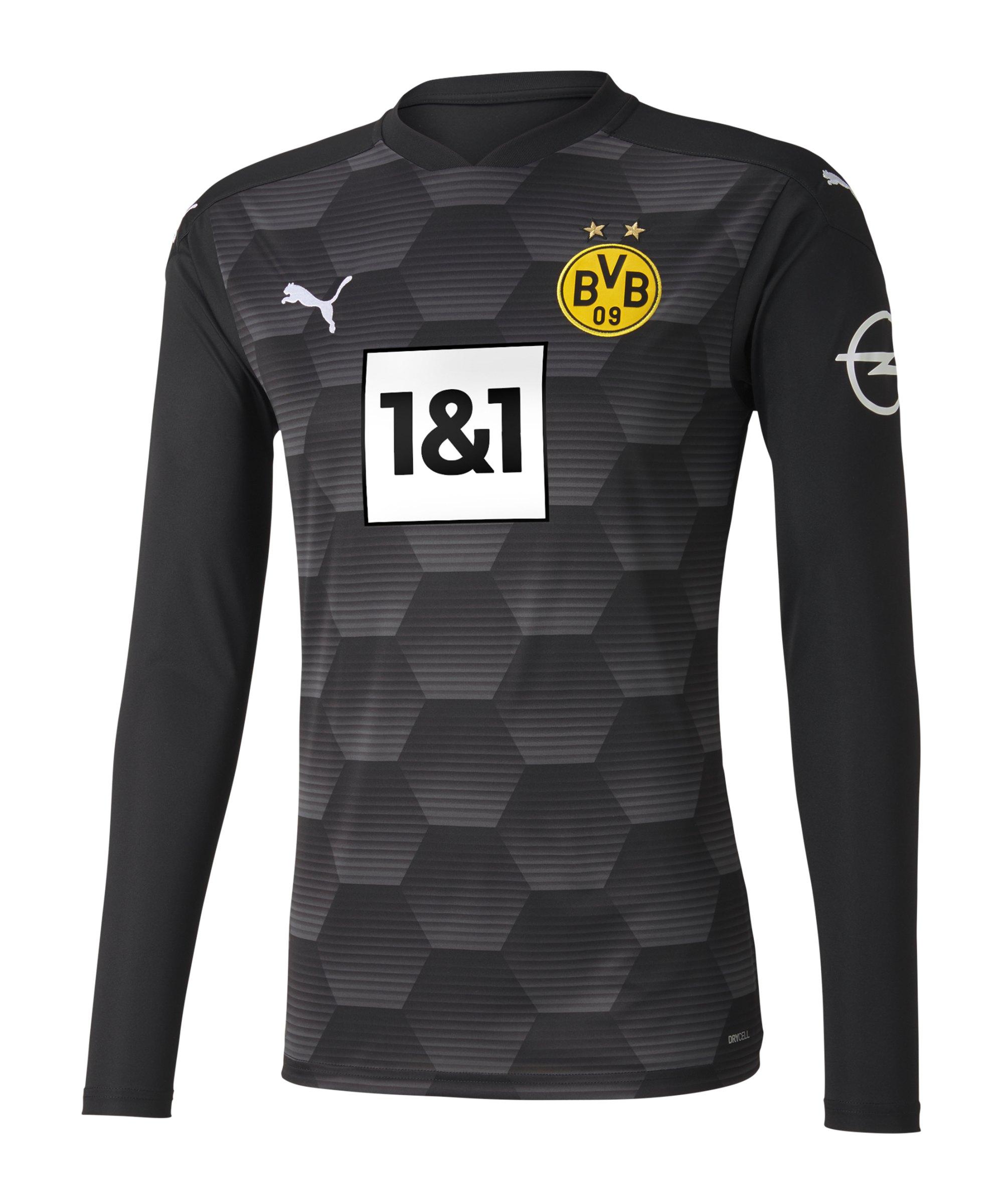 PUMA BVB Dortmund Torwarttrikot 2020/2021 Schwarz F02 - schwarz