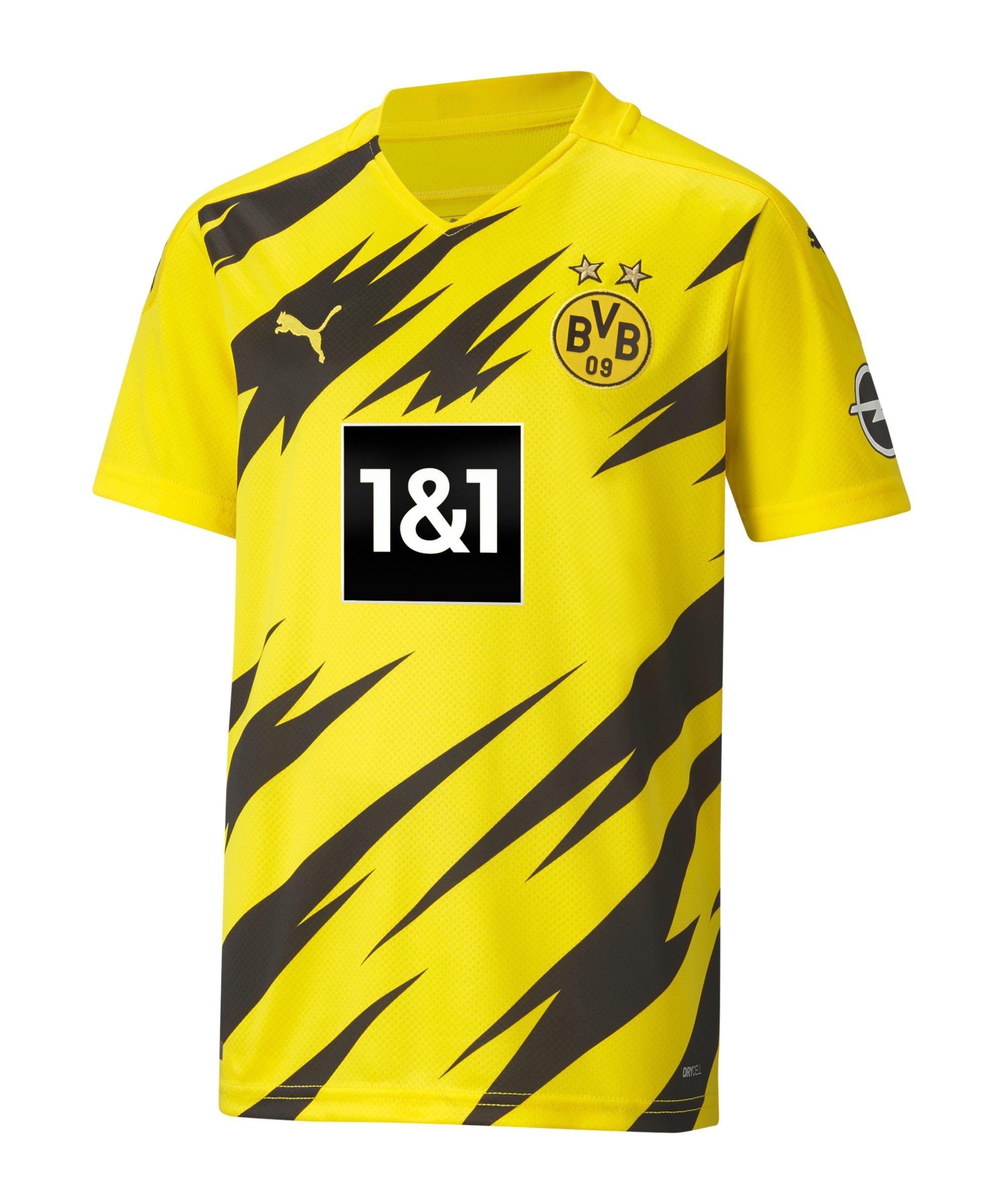 PUMA BVB Dortmund Trikot Home 2020/2021 Kids Gelb F01 - gelb