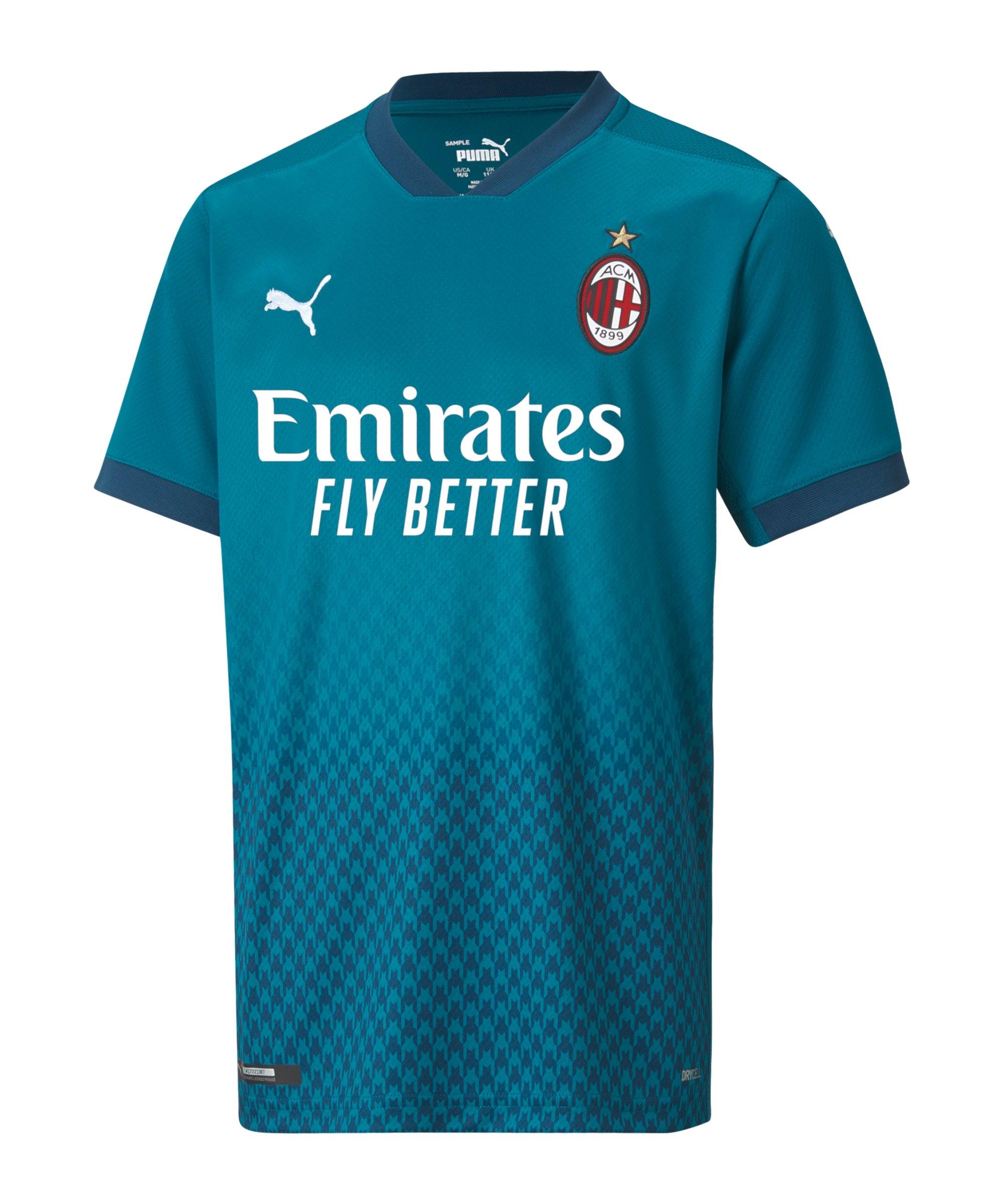 PUMA AC Mailand Trikot UCL 2020/2021 Kids Blau F03 - blau